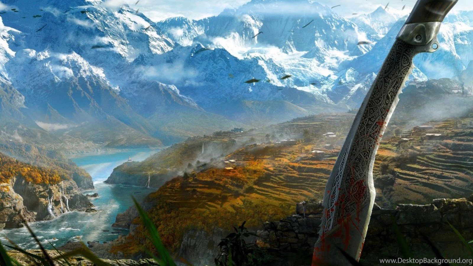Far Cry 4 Wallpapers Hd Desktop And Mobile Backgrounds: Dual Monitor Resolution Far Cry 4 Wallpapers HD, Desktop