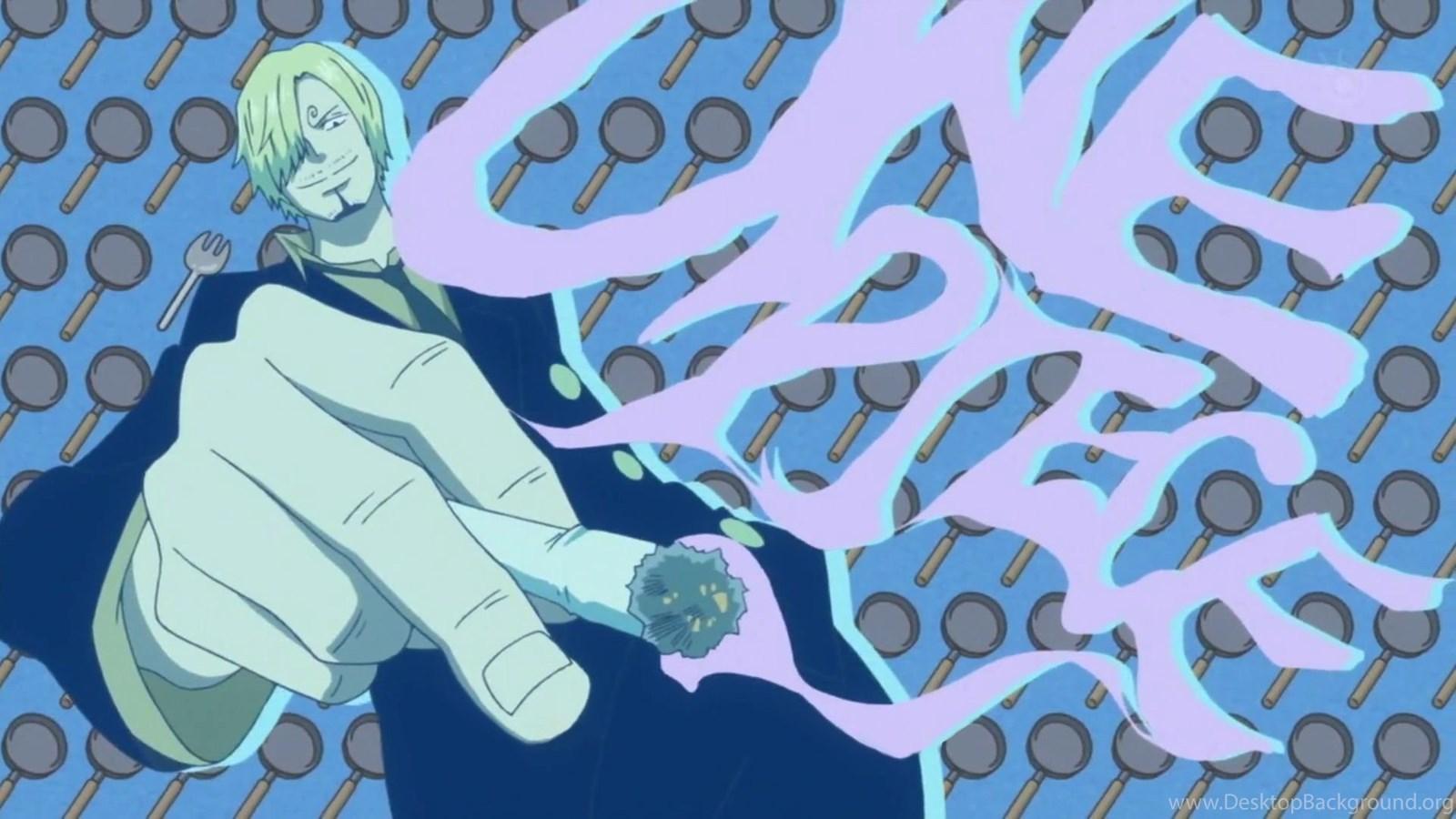 One Piece Anime Sanji One Piece Wallpapers Desktop Background