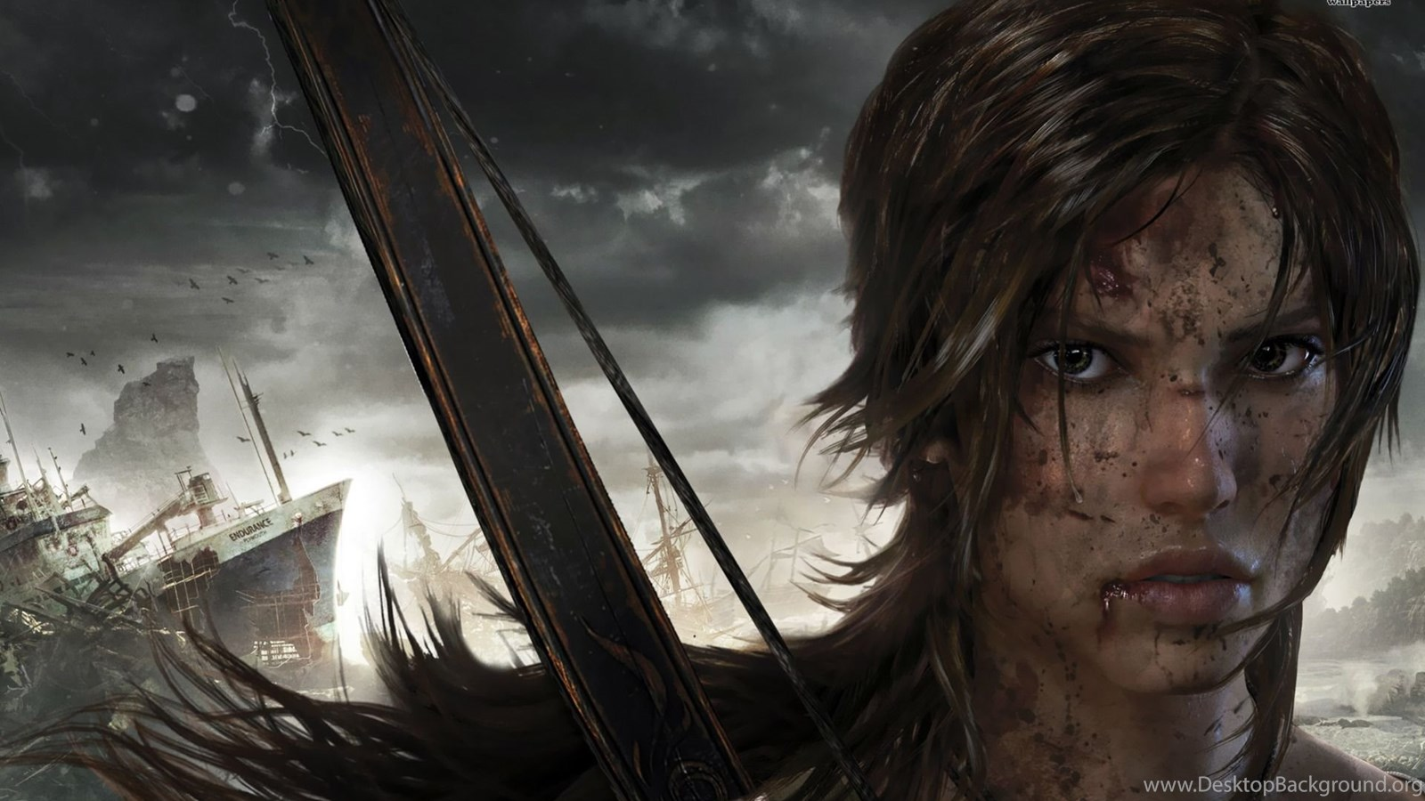 Lara Croft Tomb Raider Wallpapers Game Wallpapers Desktop Background