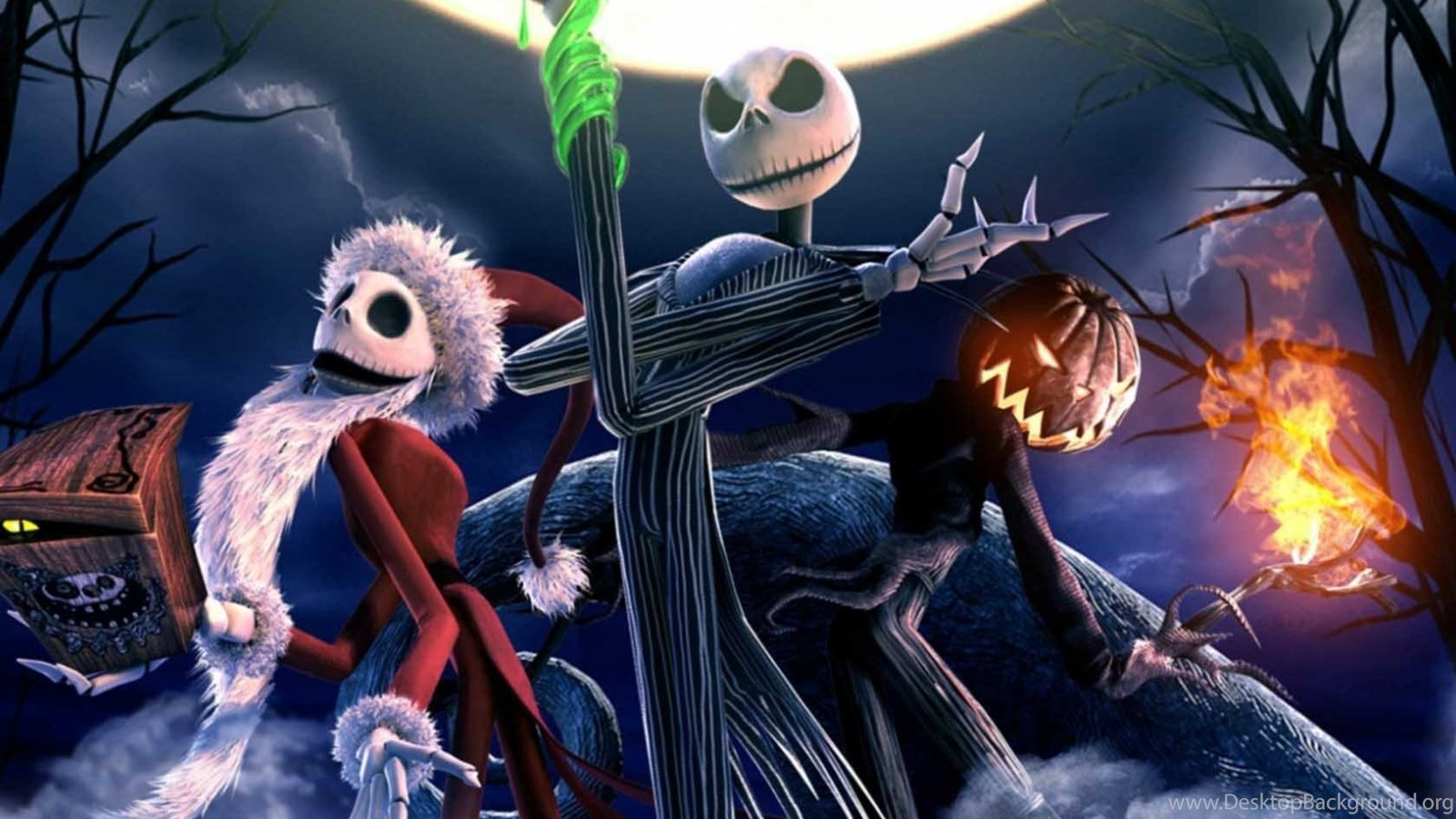 The Nightmare Before Christmas Wallpapers Hd Desktop Background