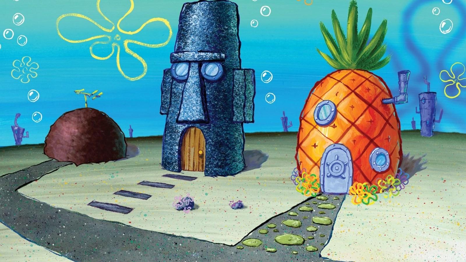 Sponge bob bikini bottom