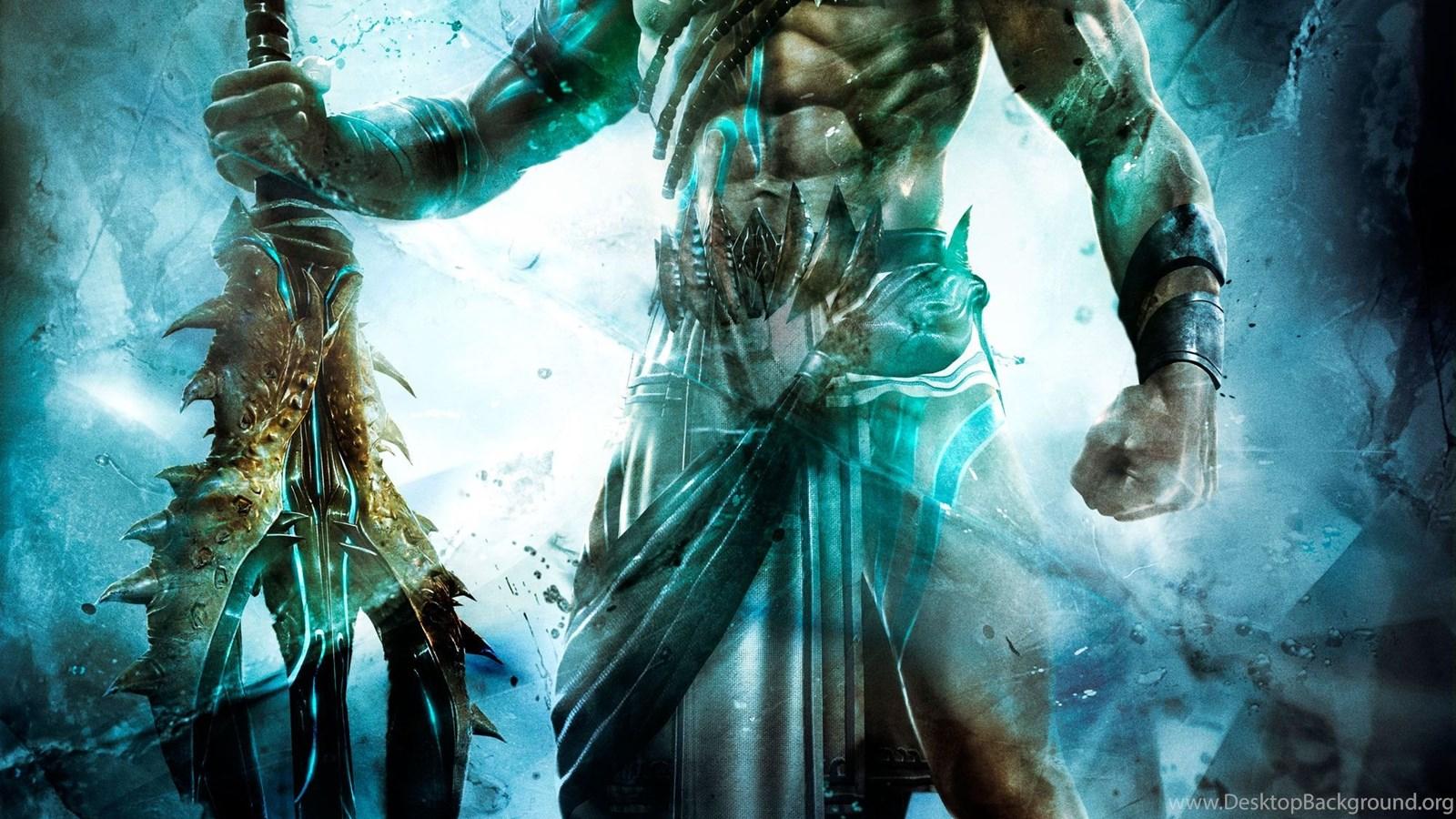 Poseidon God Of War Ascension Hd Wallpapers ImgMob Desktop ...