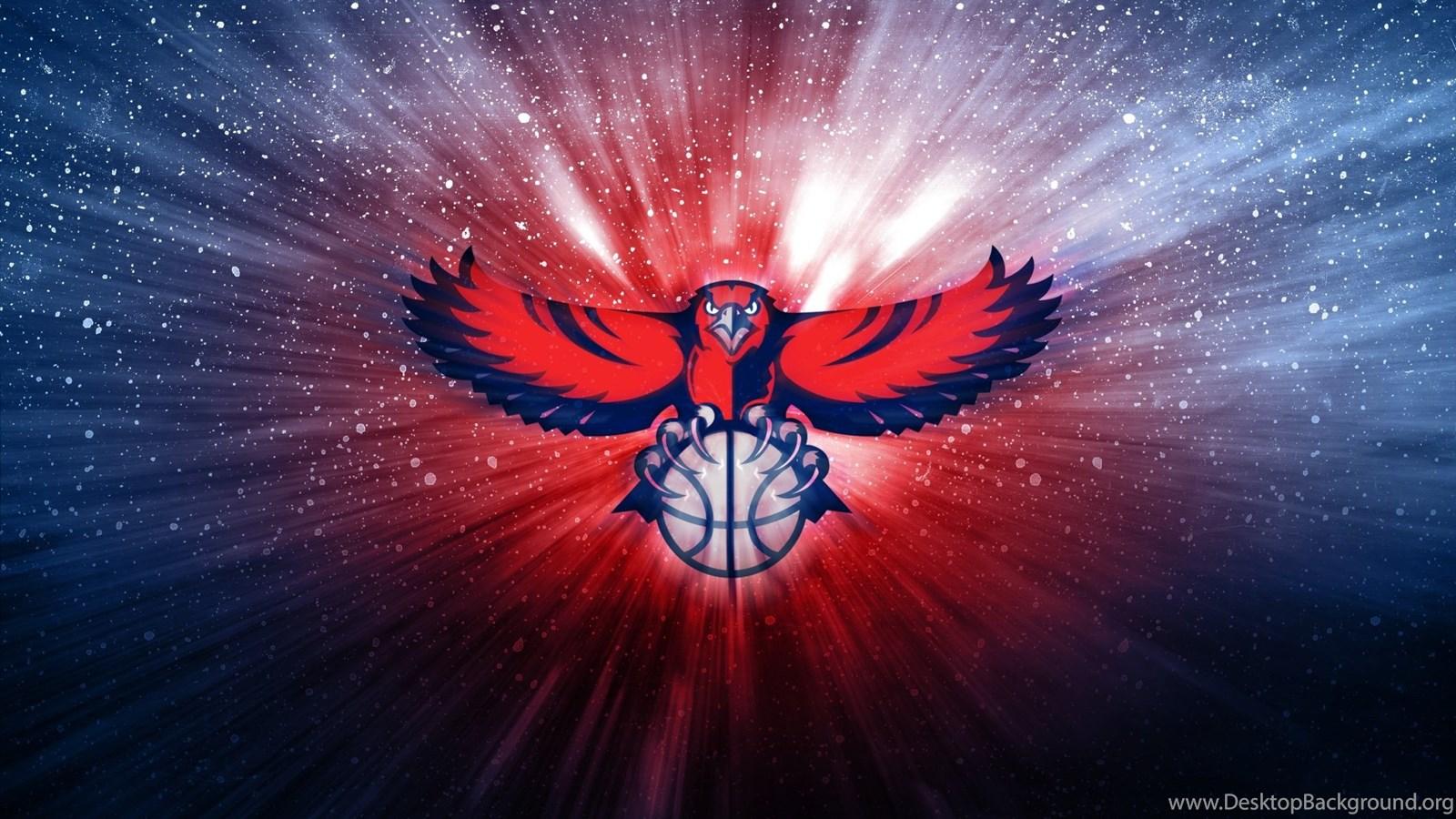 Atlanta Hawks Nba Logo Basketball Ball Backgrounds HD