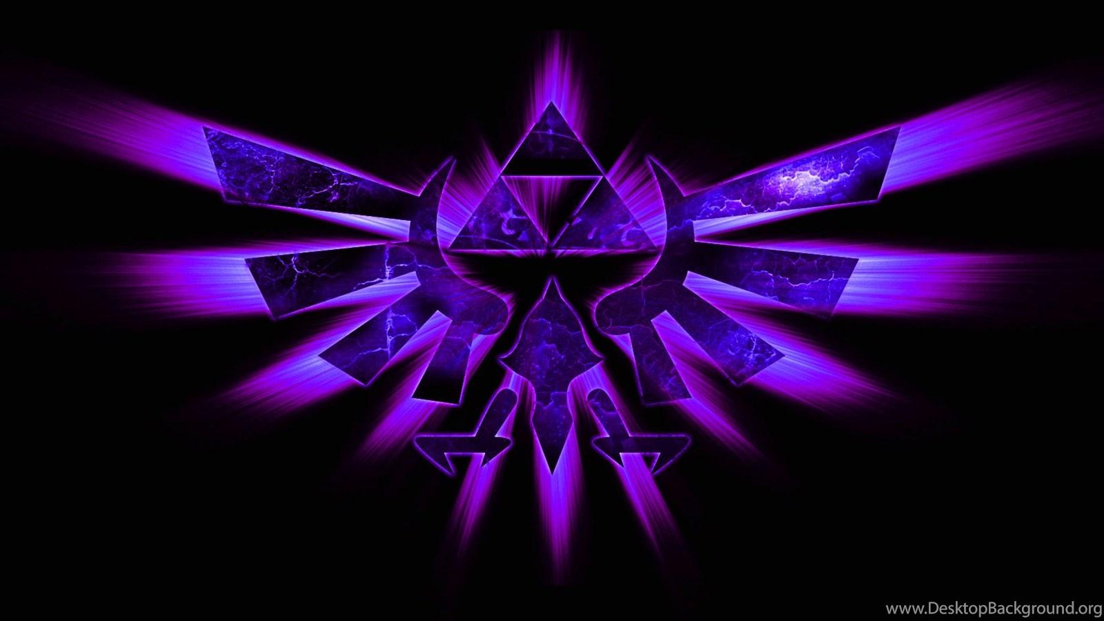 Hyrule The Legend Of Zelda Hyrule Crest Wallpapers Desktop Background