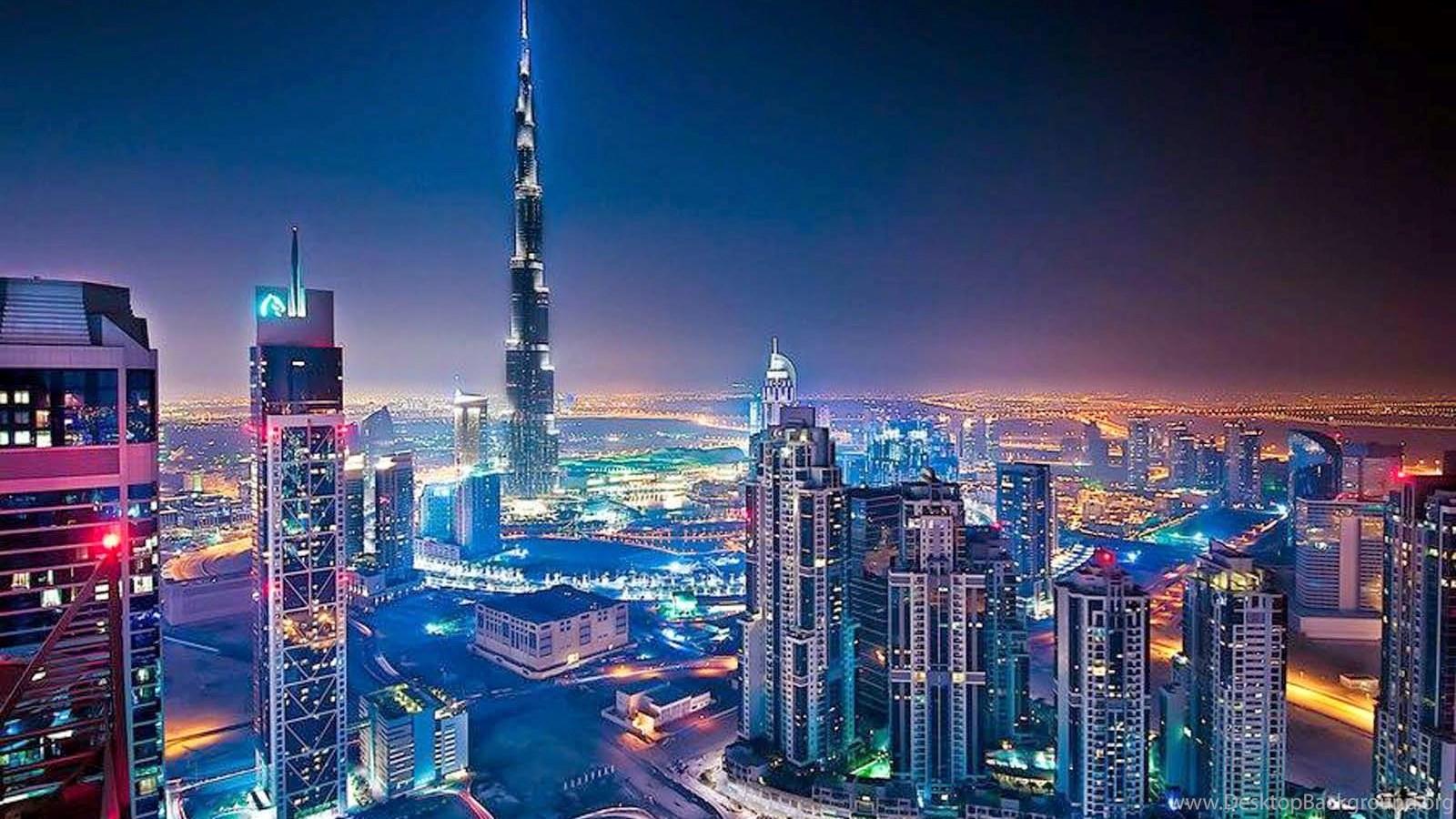 Burj Khalifa Hd Photos: Burj Khalifa In Night HD Wallpapers Desktop Background