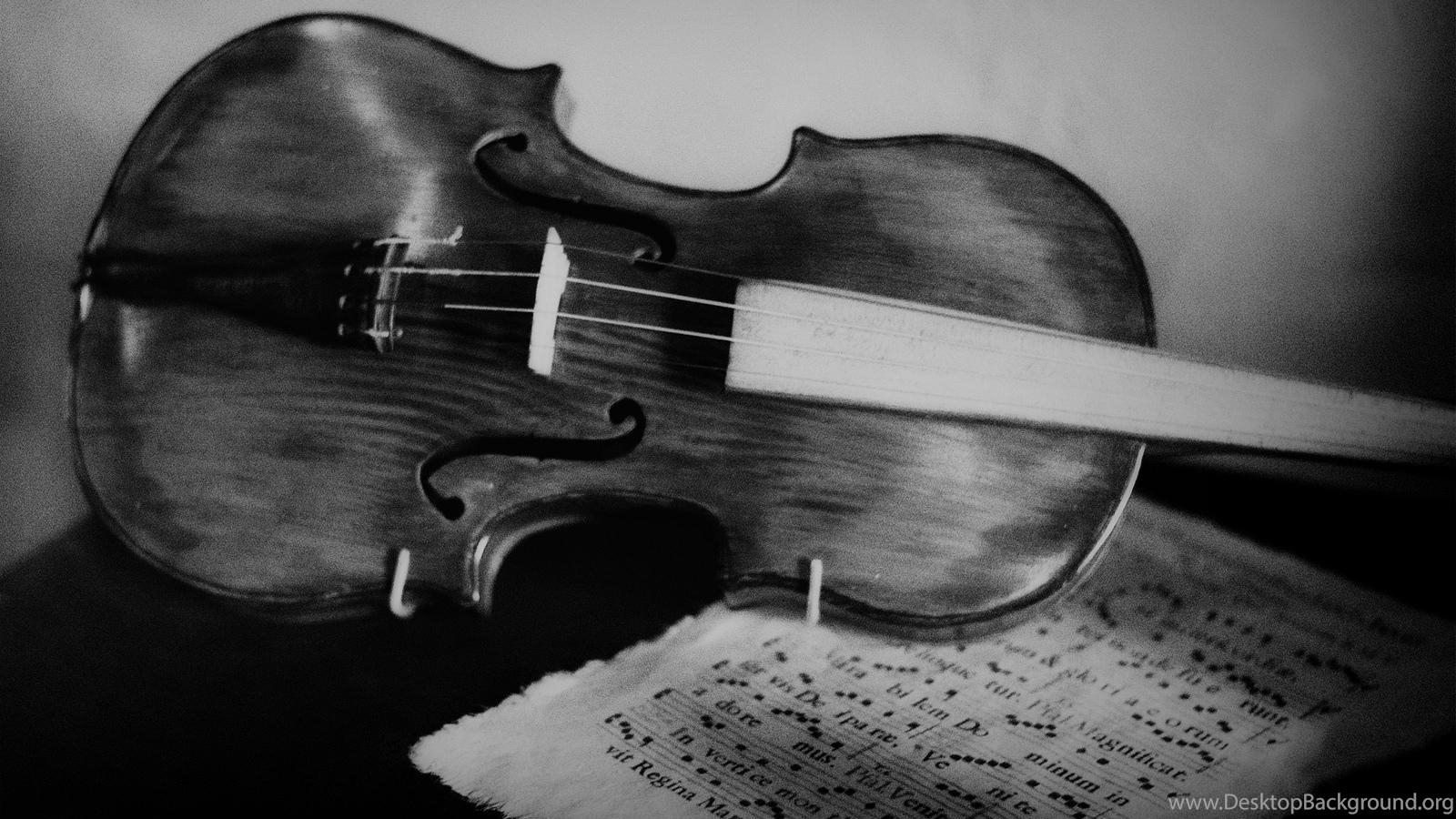 VIOLIN WALLPAPER Desktop Background Popular Source Violin Black And White
