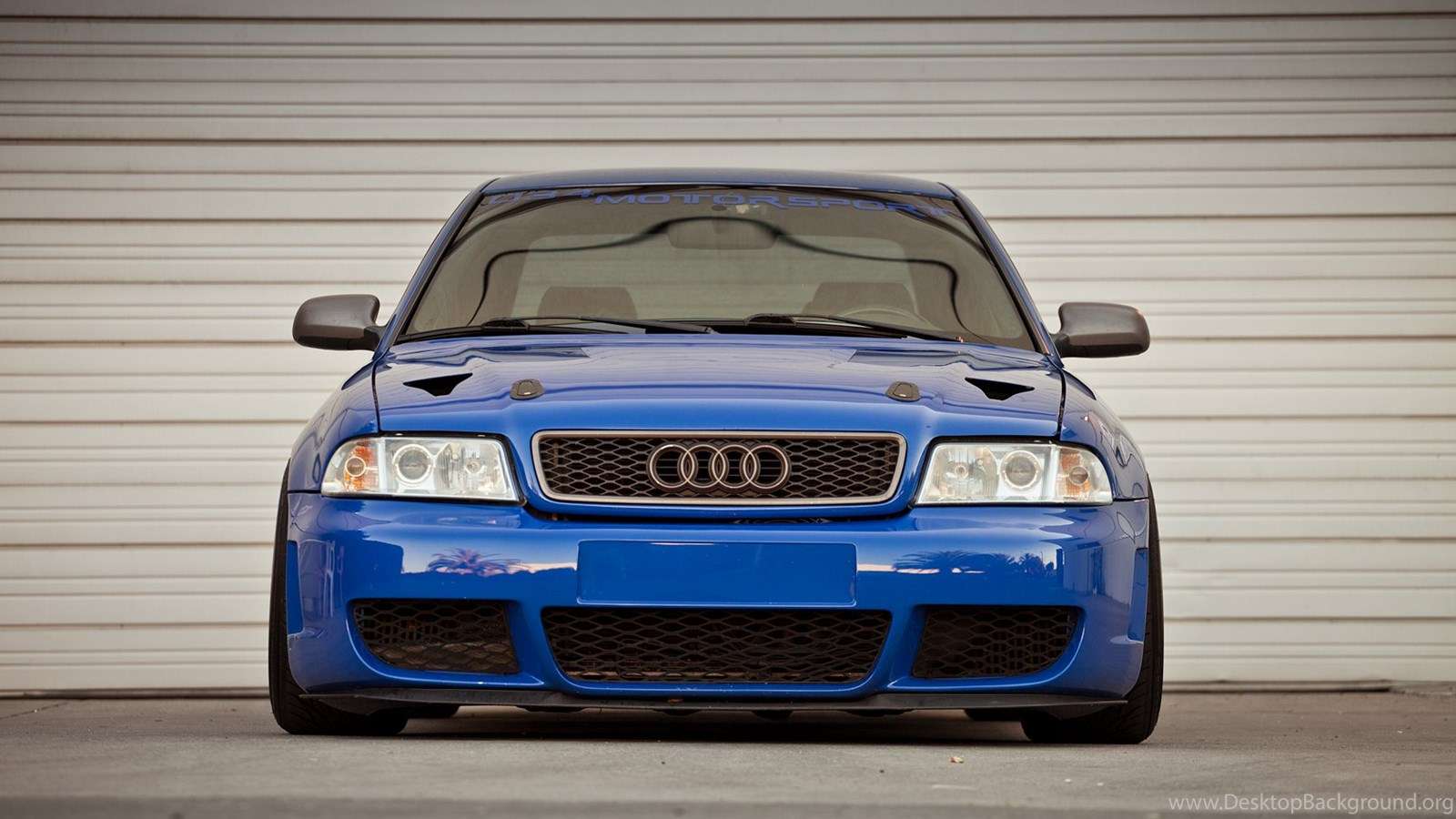Audi S4 B5 Stance Image Desktop Background