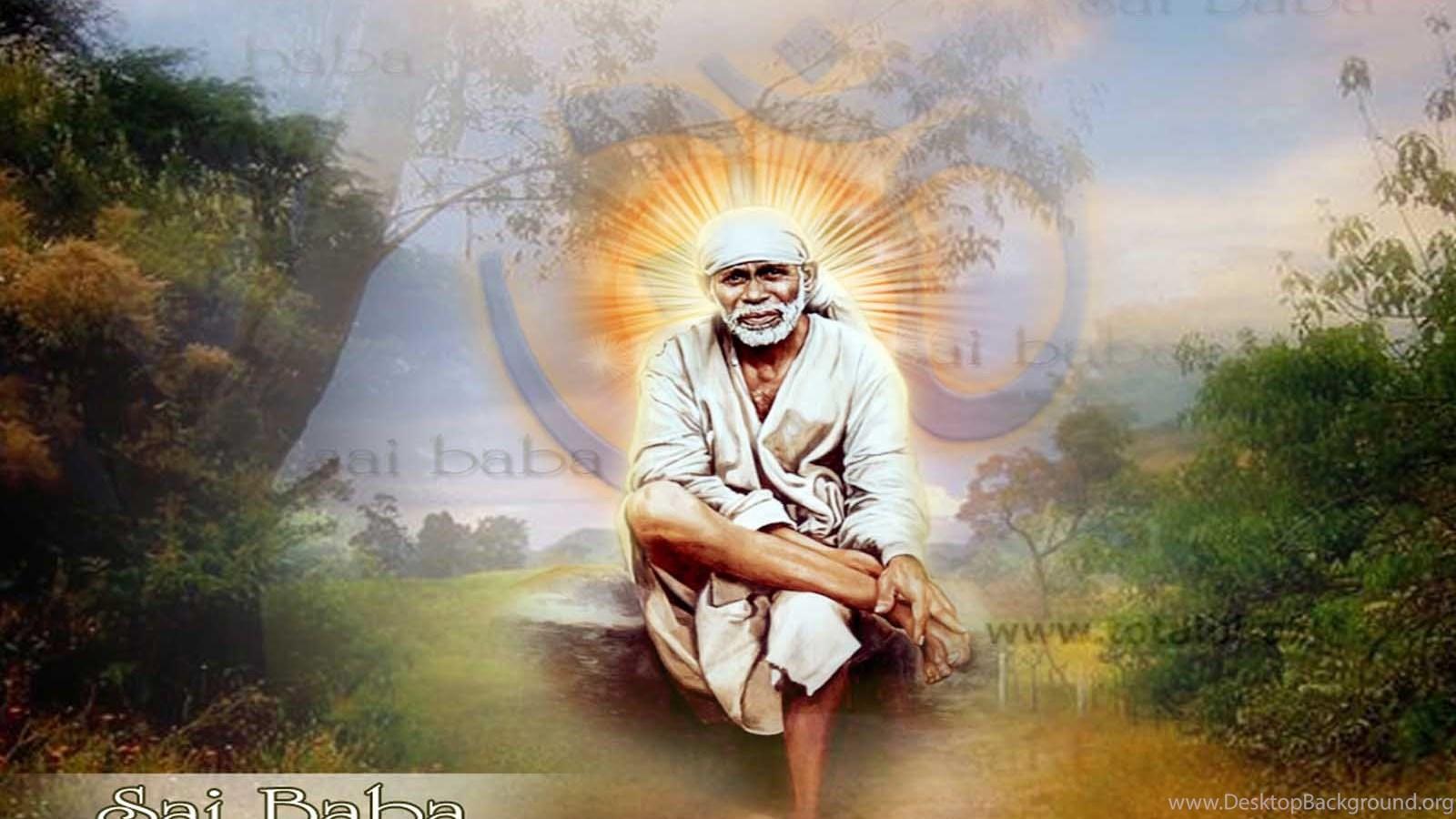 Sai Baba Wallpaper Hindu Wallpaper Sai Baba Wallpaper Gray And