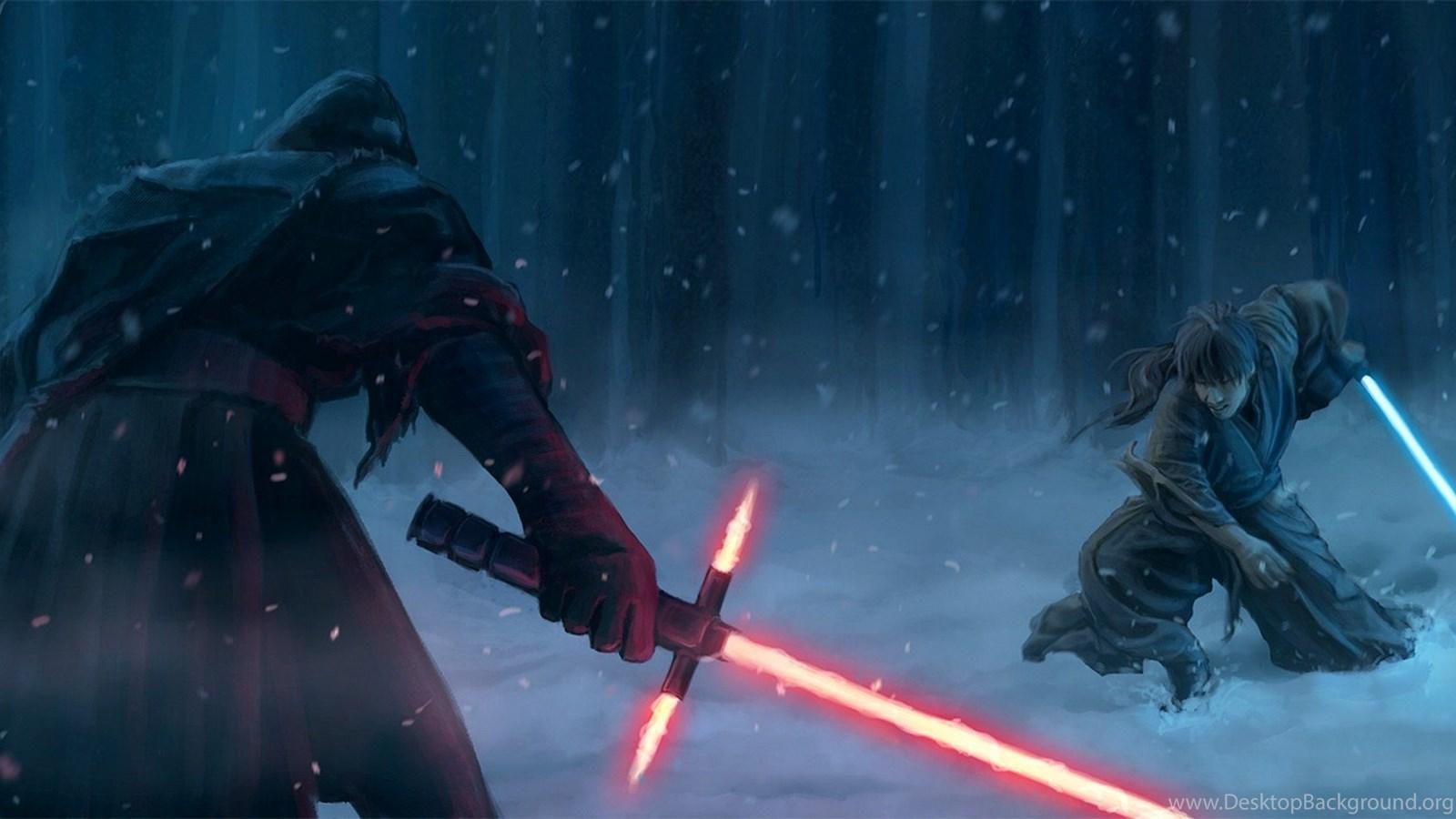 Star Wars Fan Art For Ep 7 Sith Vs Jedi Wallpapers Desktop Background