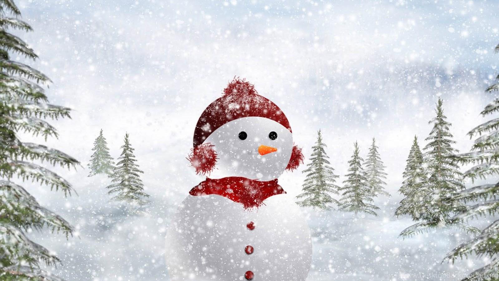 Wallpaper Snowman Wallpapers Desktop Background