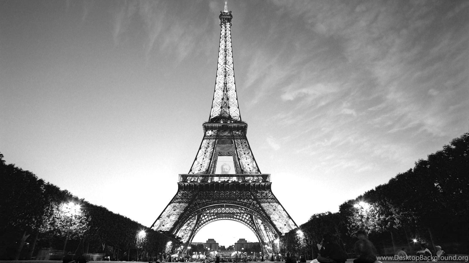 Black And White Paris Wallpaper 3 2795 HD Wallpapers Desktop Background