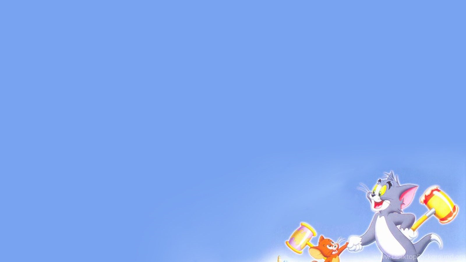 Tom and jerry background