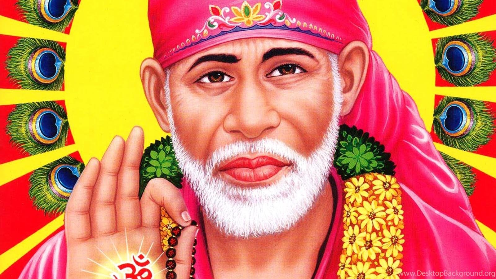 Sai Baba Hd Image Wallpapers Desktop Background