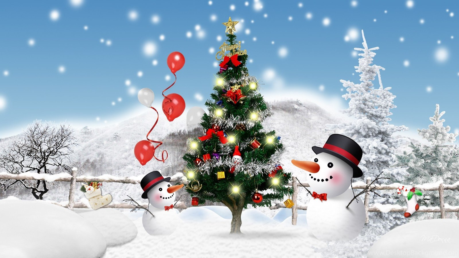 3d christmas wallpaper backgrounds best hd desktop wallpapers