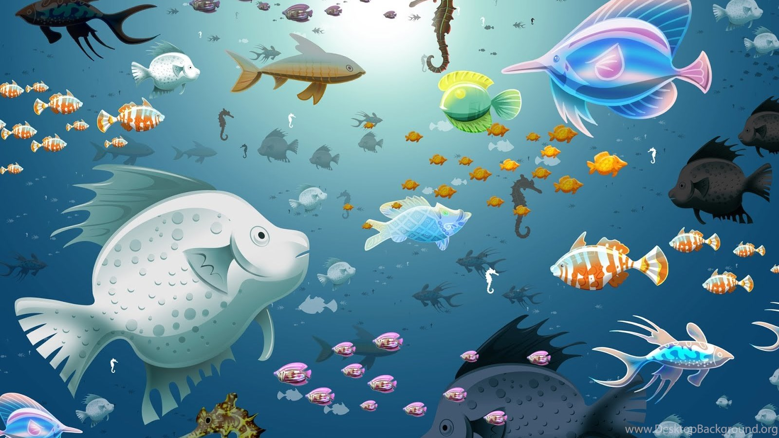 Fish Tank 3d Live Wallpapers Free Download For Desktop Background