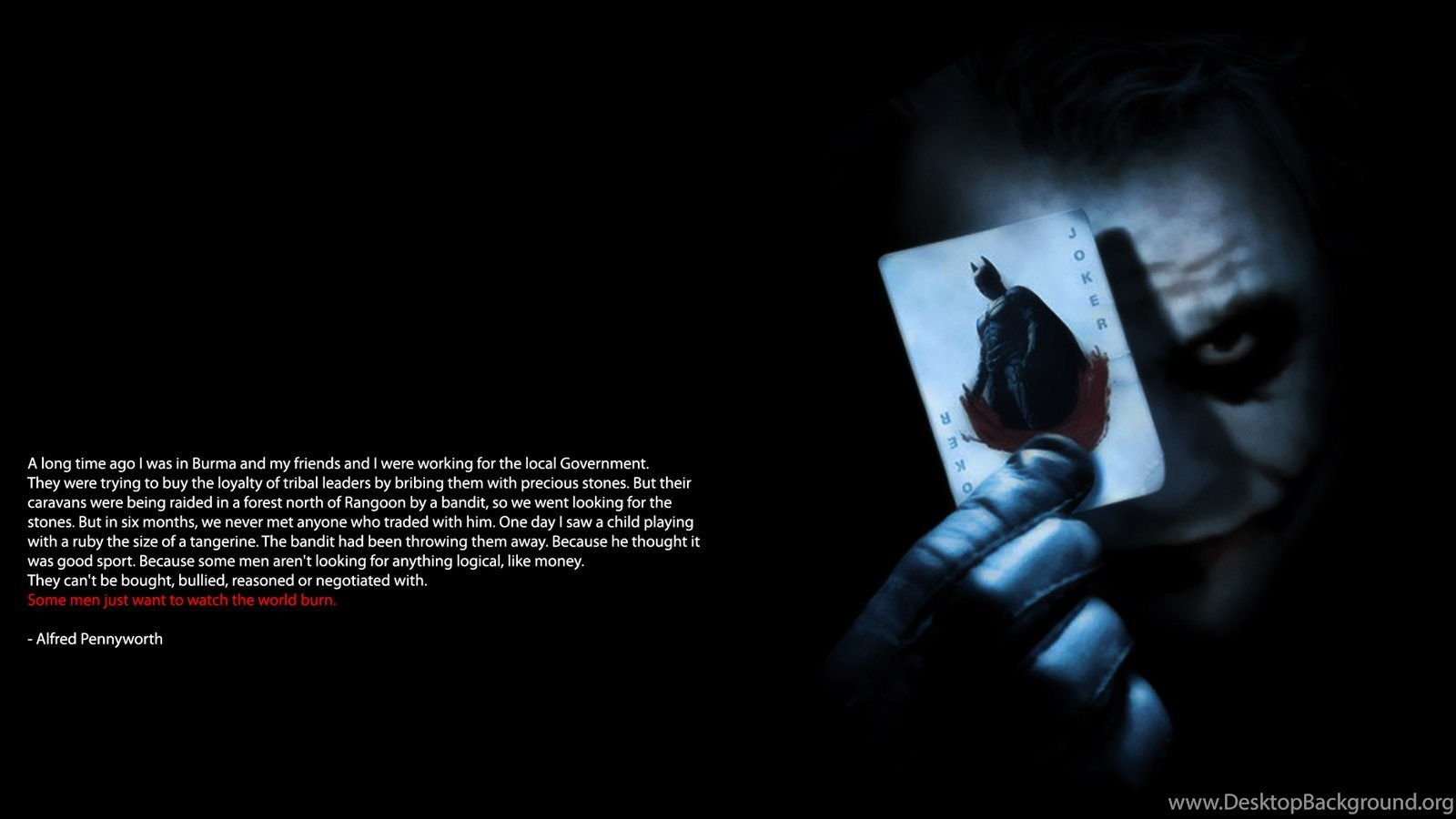 Joker Quotes Dark Knight Album On Quotesvil Com Desktop Background