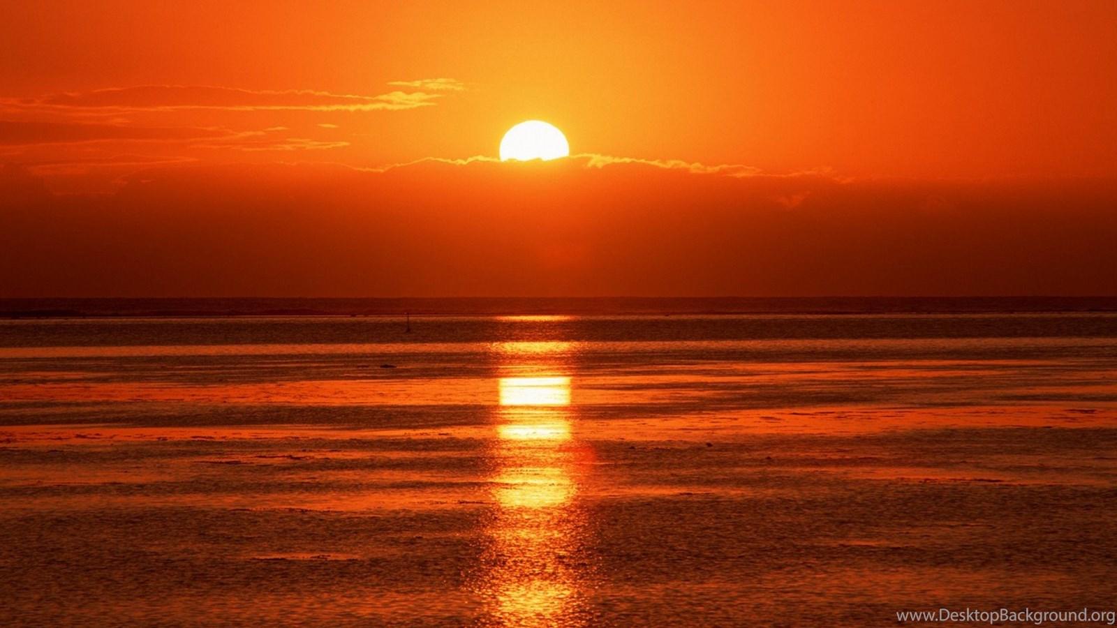 Download Romantic Beach Sunset Wallpapers Desktop Backgrounds
