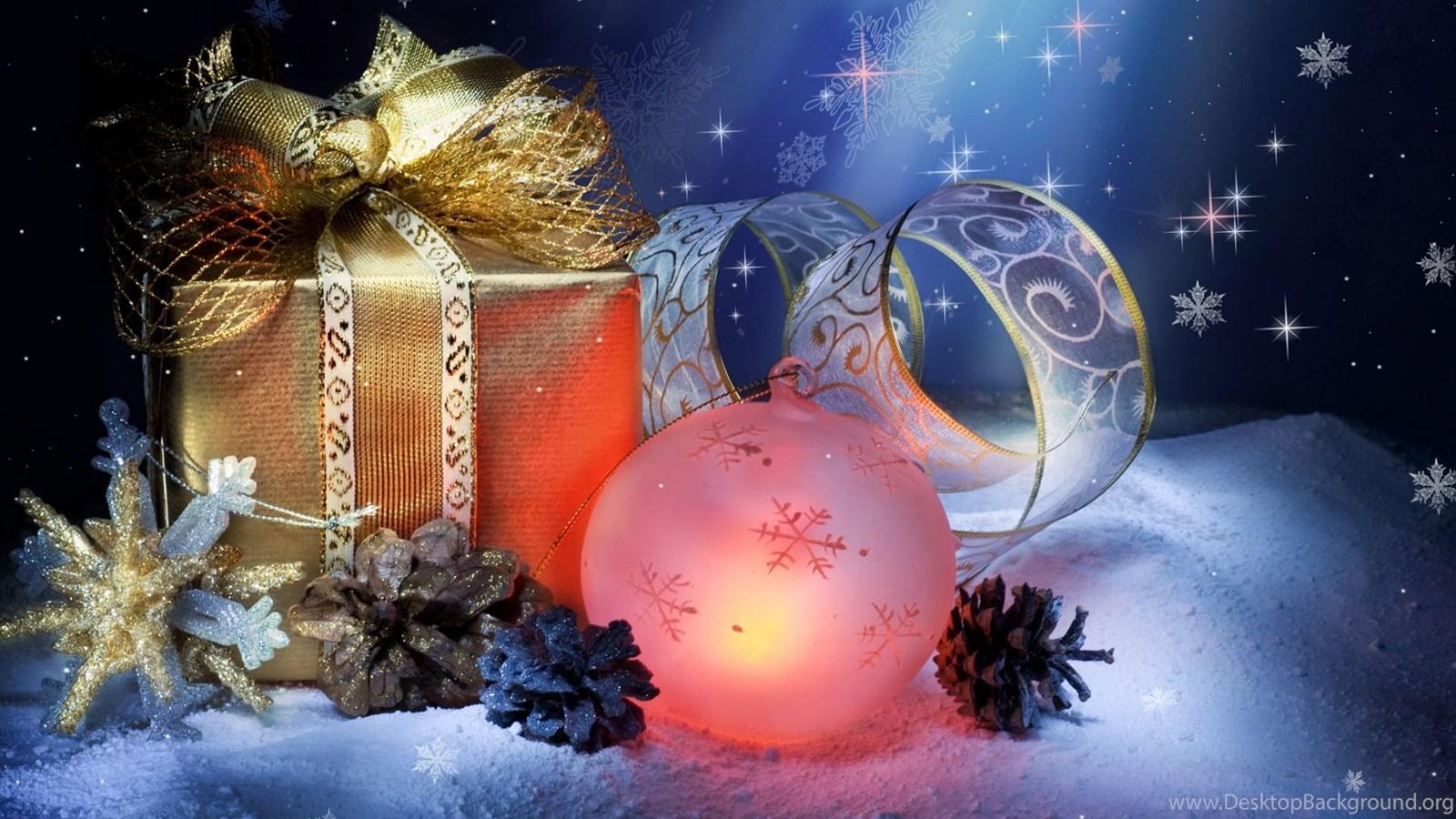Free Wallpapers Christmas Ornement Fond Ecran Noel Desktop Background