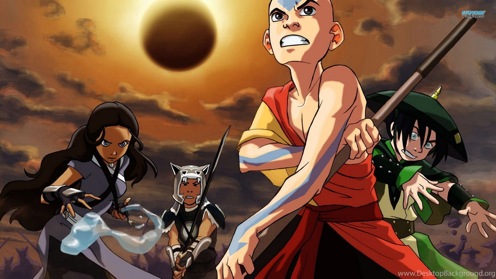 Avatar: The Last Airbender, Aang, Anime, 1920x1080 HD ...