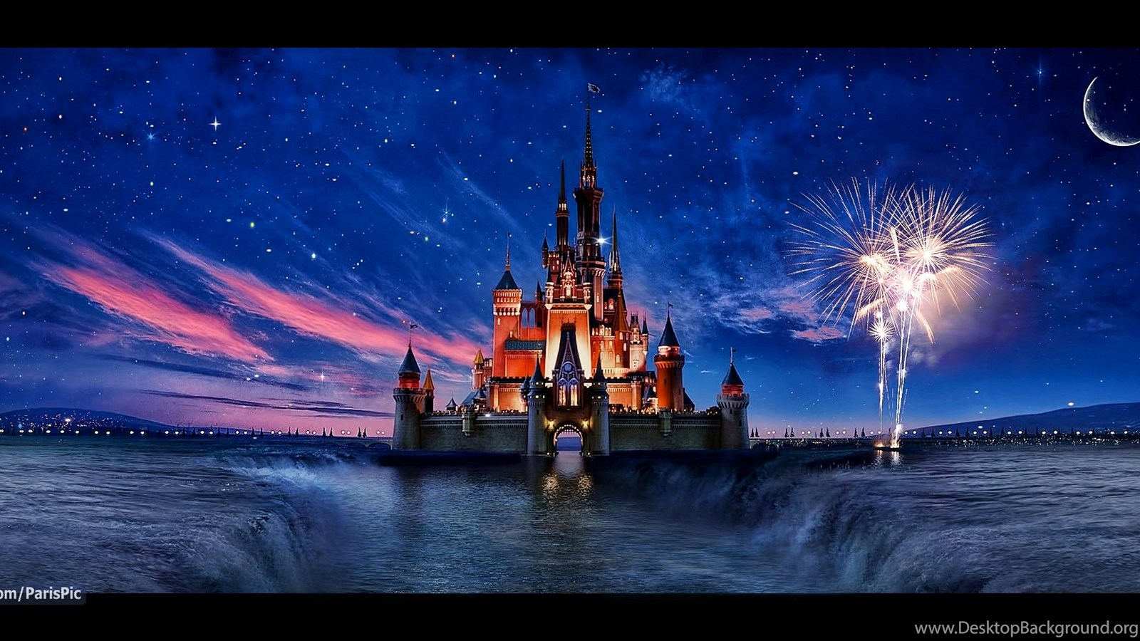Disney Castle Wallpapers For Iphone Desktop Background