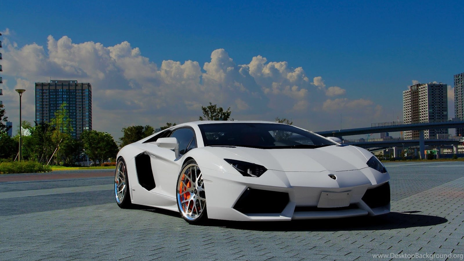Lamborghini Aventador J In Whtie Colour Cars Wallpapers Hd Desktop