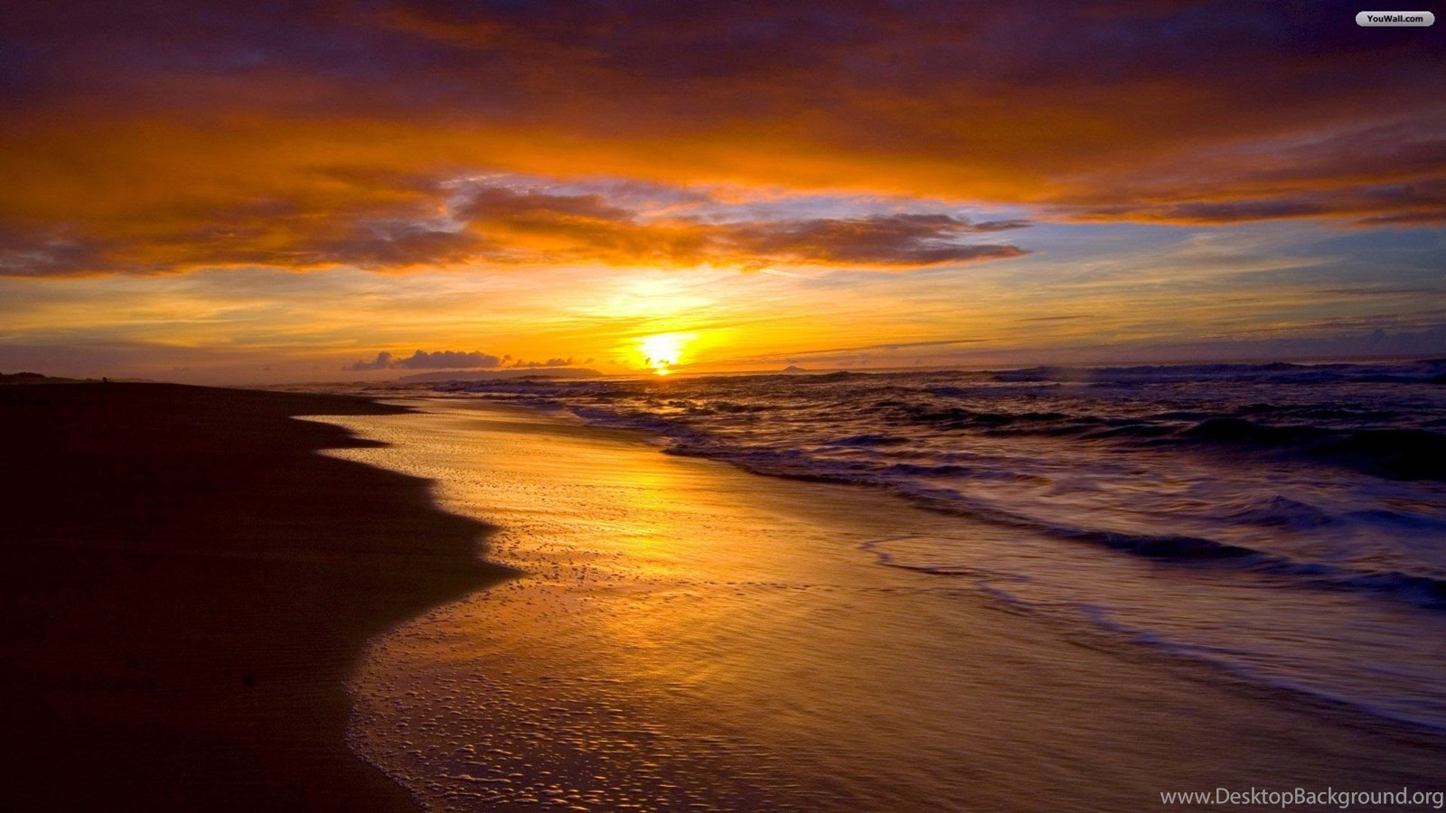 Free Beach Sunset Wallpapers For Android Desktop Background