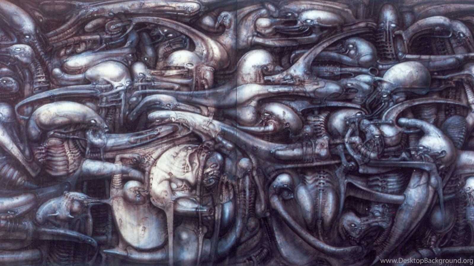 Landscape Xxvii Science Fiction H R Giger Wallpapers Image ... H.r. Giger Wallpaper