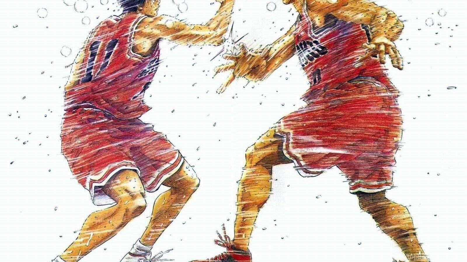 Trololo Blogg: Wallpapers Slam Dunk Anime Desktop Background
