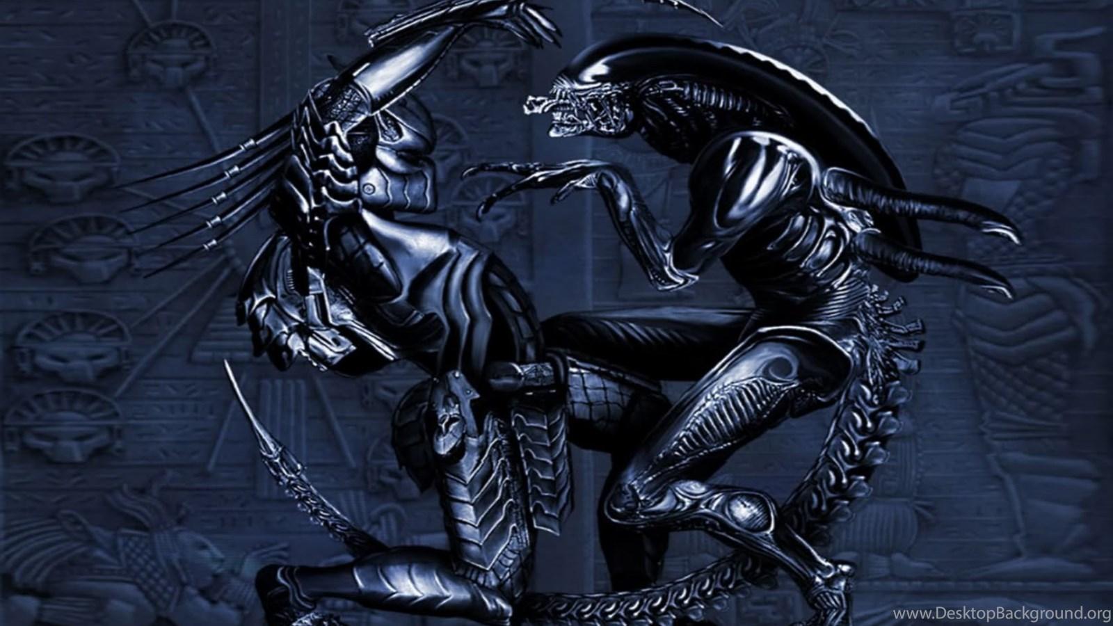 9 Alien Vs Predator Hd Wallpapers Desktop Background
