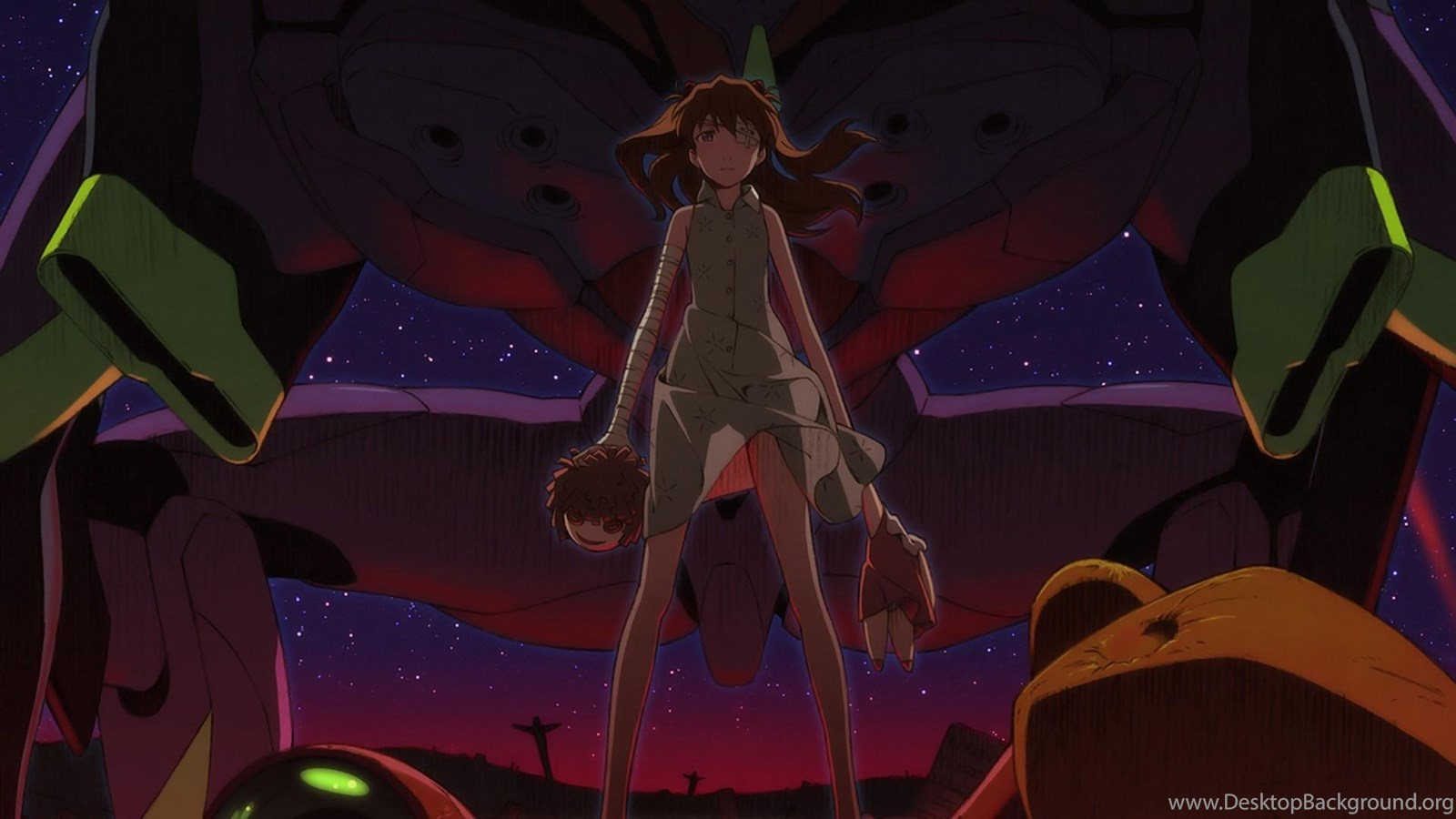 Soryu Neon Genesis Evangelion Rebuild Of Upscaled Wallpapers Desktop Background