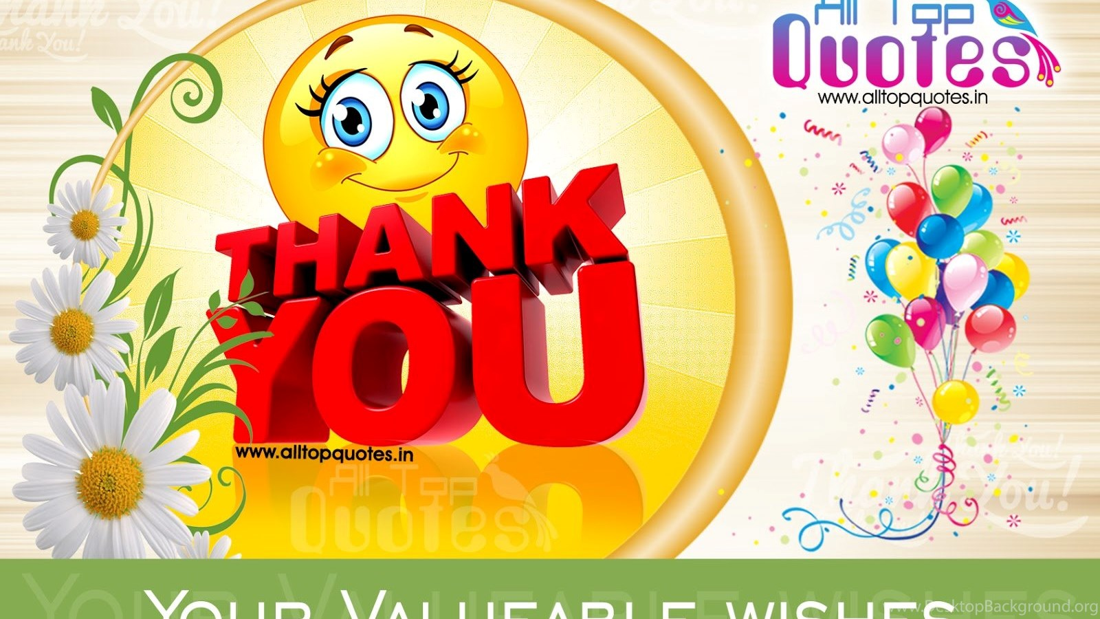 Thank You Wallpapers For Birthday Wish U Wishes On