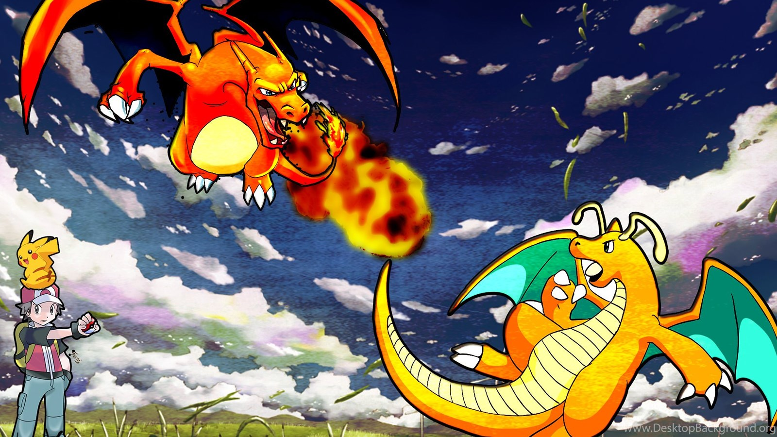 Charizard Vs Dragonite Wallpapers By Gamingthefudge On DeviantArt