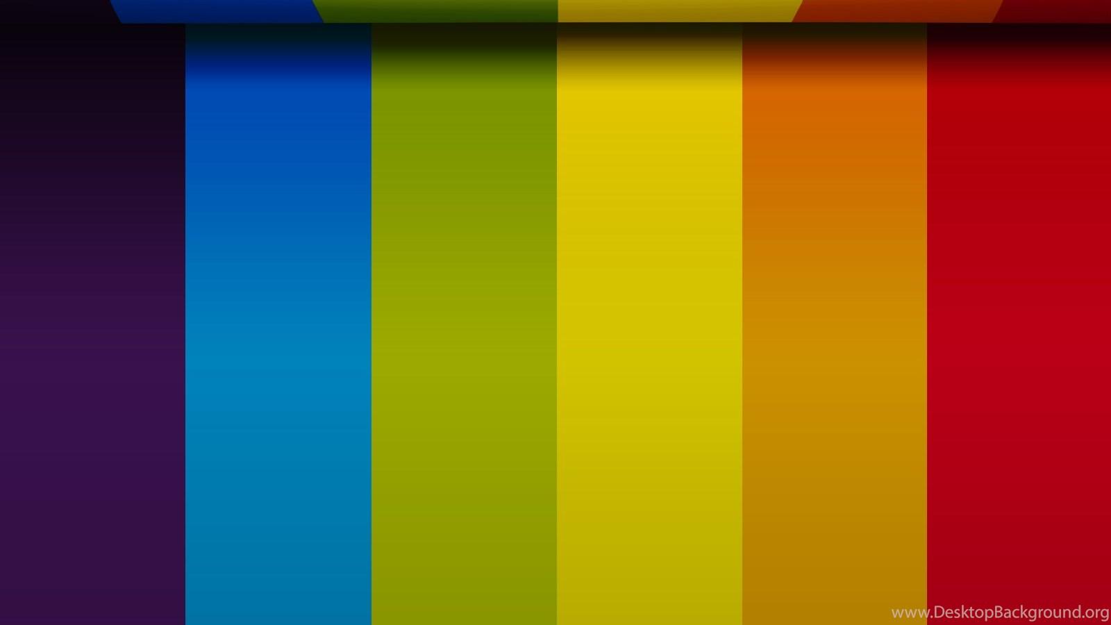 beautiful rainbow colors wallpapers toptenpack com desktop
