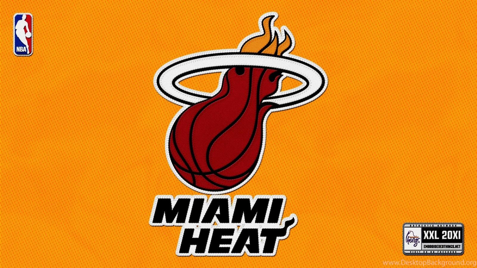 Miami heat logo hd backgrounds desktop background popular voltagebd Images