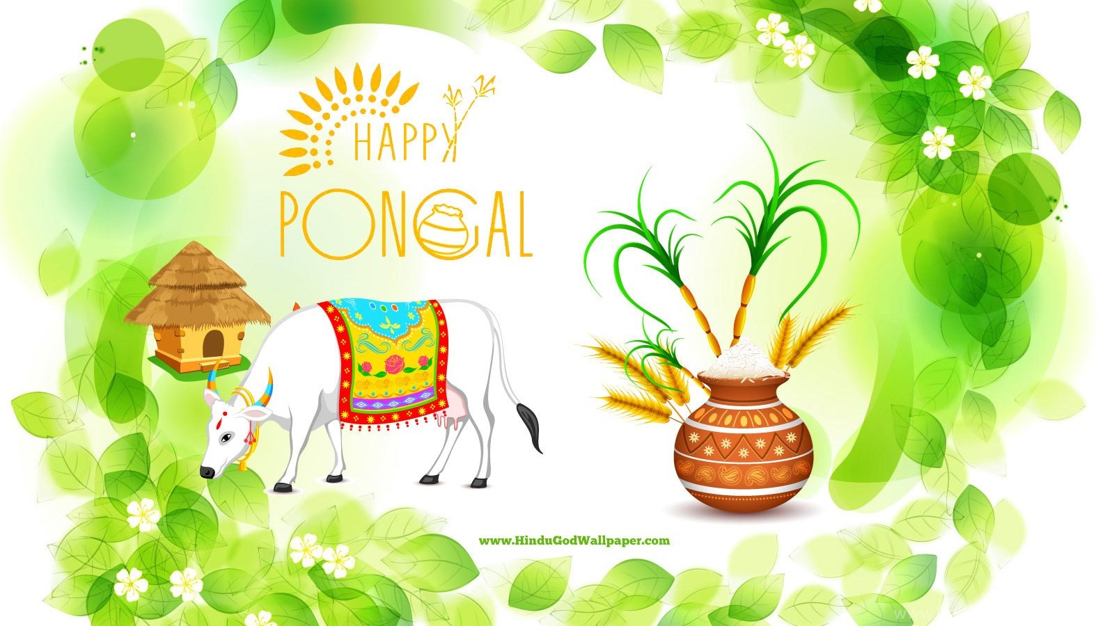 Pongal greetings wallpapers with wishes quotes desktop background popular m4hsunfo