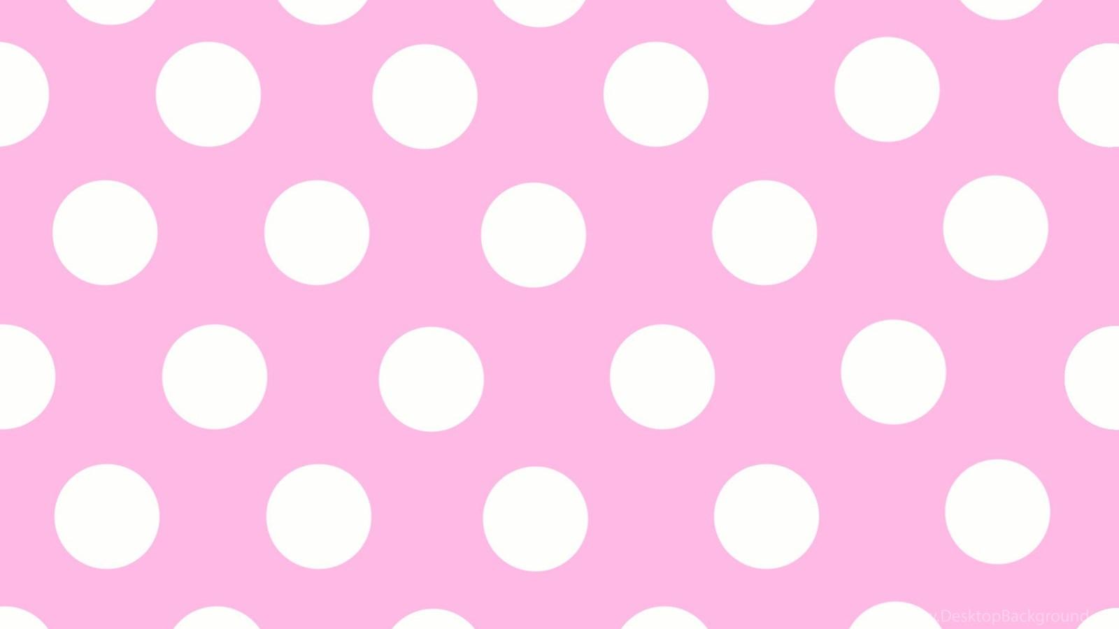 pink polka dot wallpapers hd wallpapers pretty desktop
