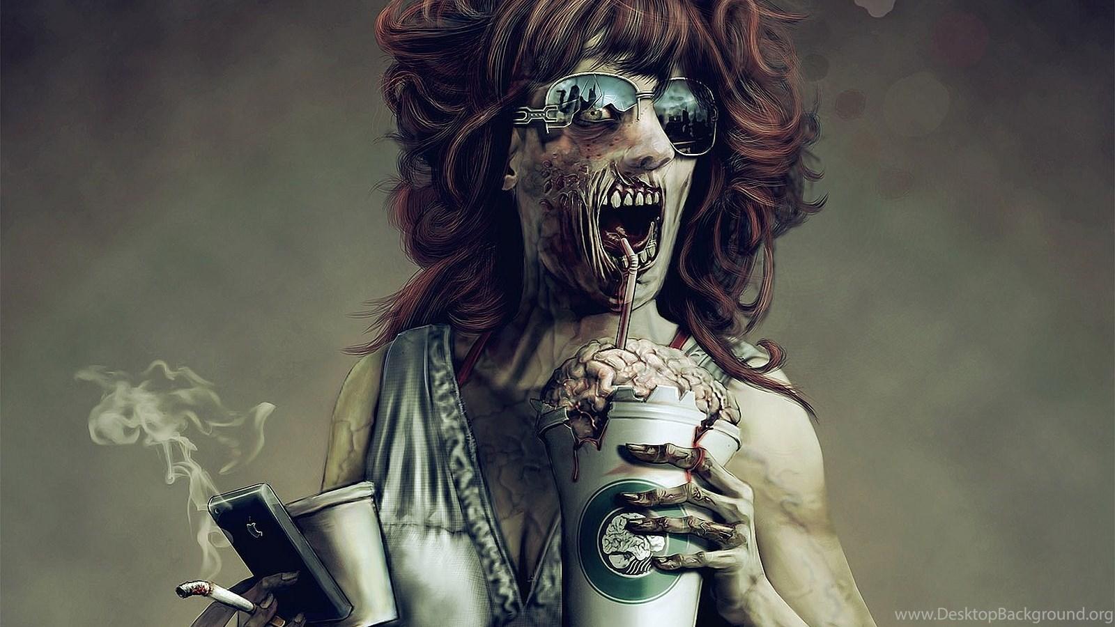 501 Zombie HD Wallpapers Desktop Background