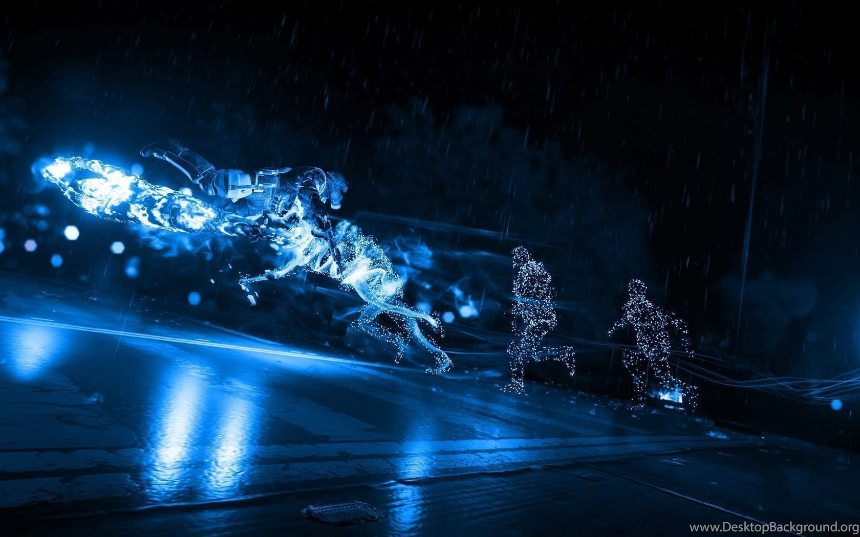 Infamous Second Son Blue Neon Wallpapers 11 By Xtremismaster On