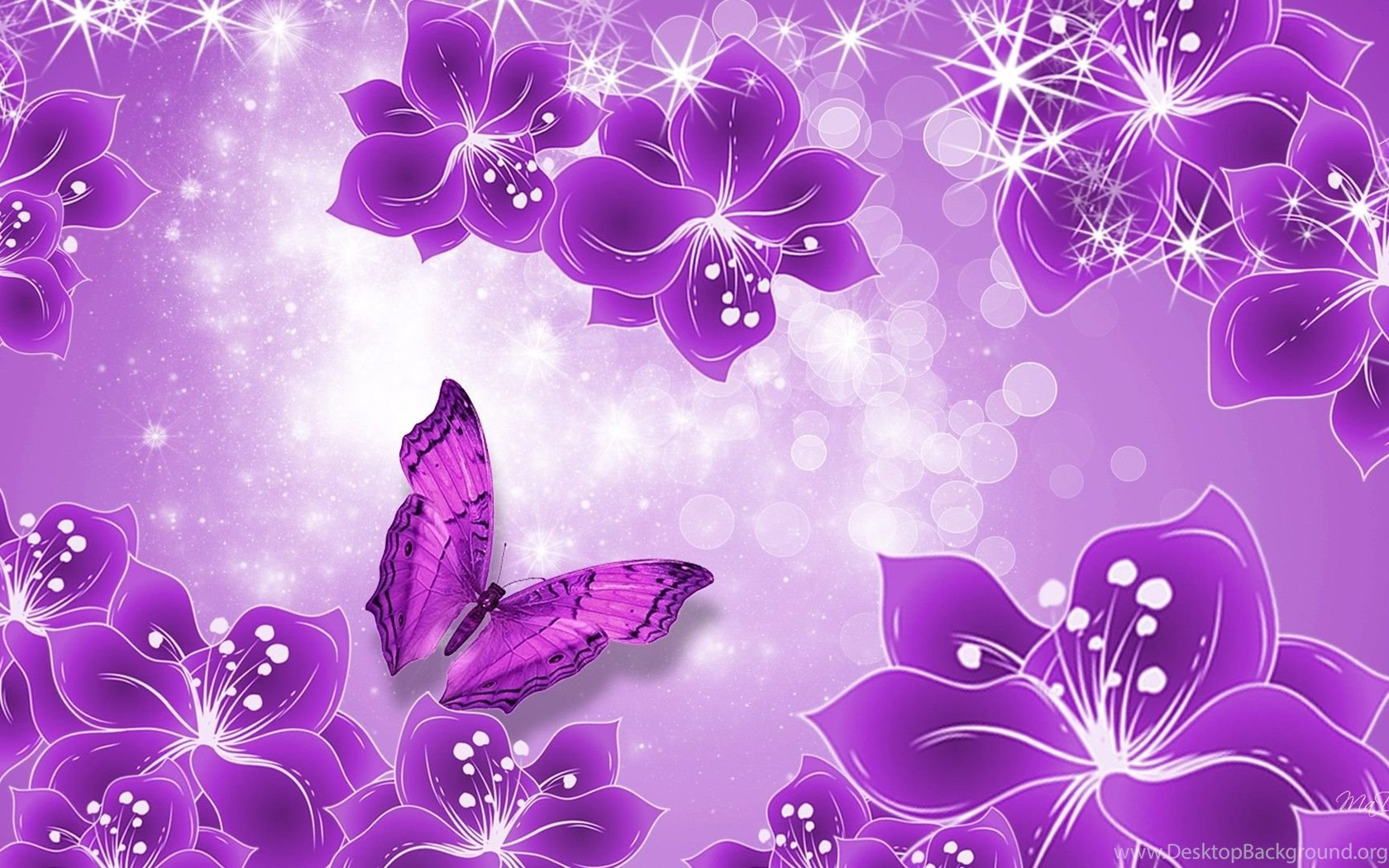 Cute Butterfly Backgrounds Desktop Background