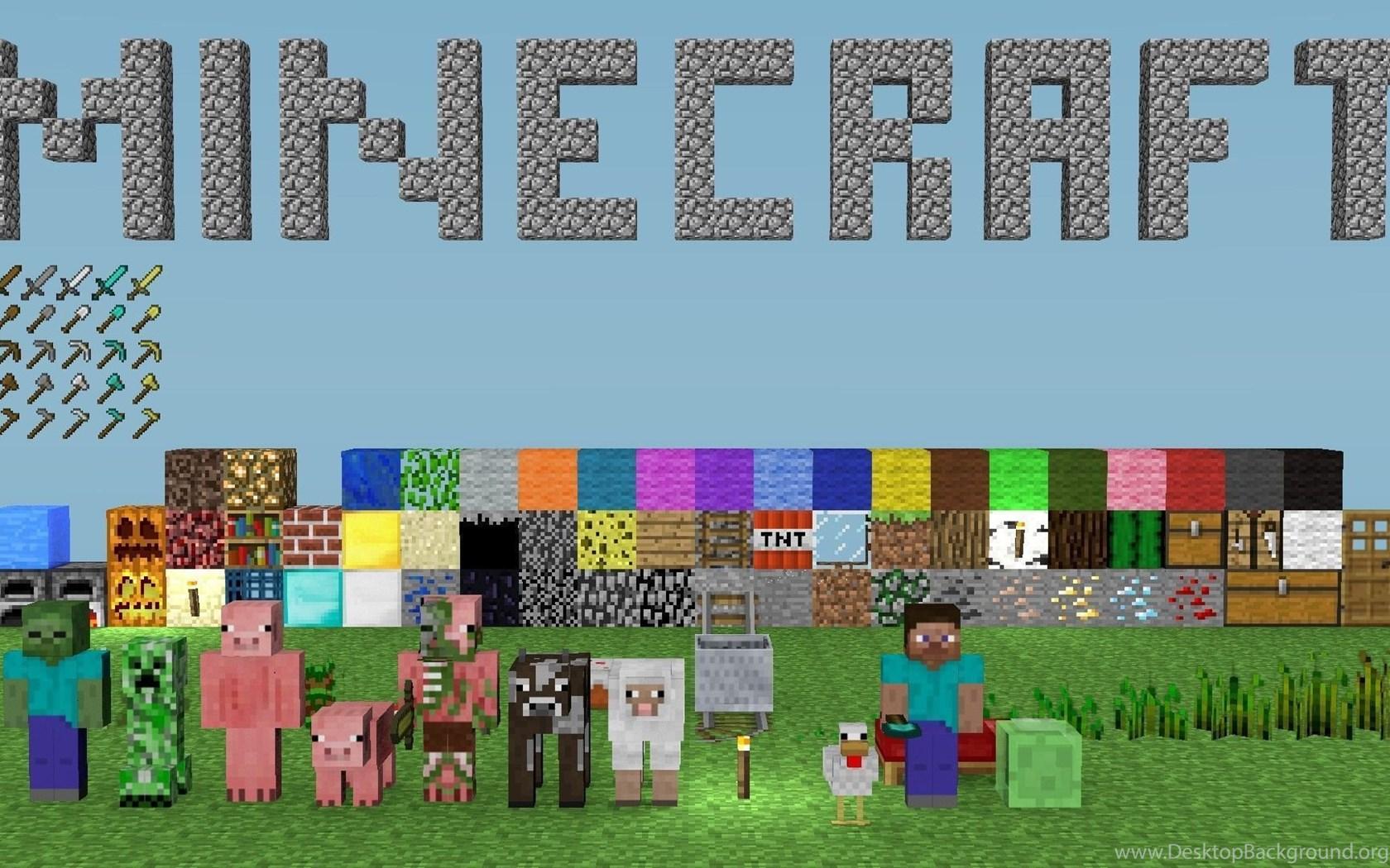 Minecraft Wallpapers For Computer Desktop Background