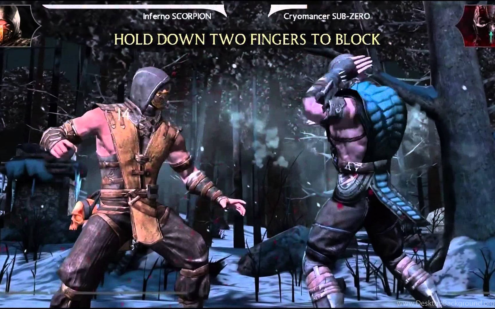 Mortal Kombat X Scorpion Vs Sub Zero Gameplay With Fatality