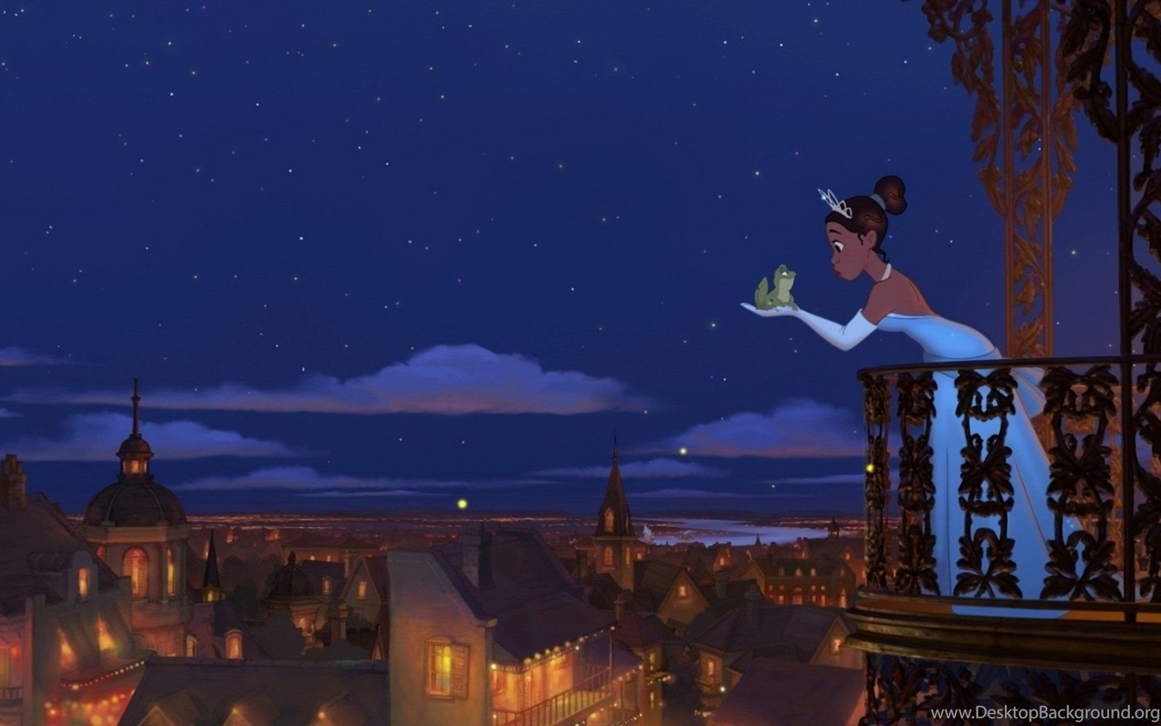 Cartoons Frog Tiana The Princess And The Frog Disney Wallpapers