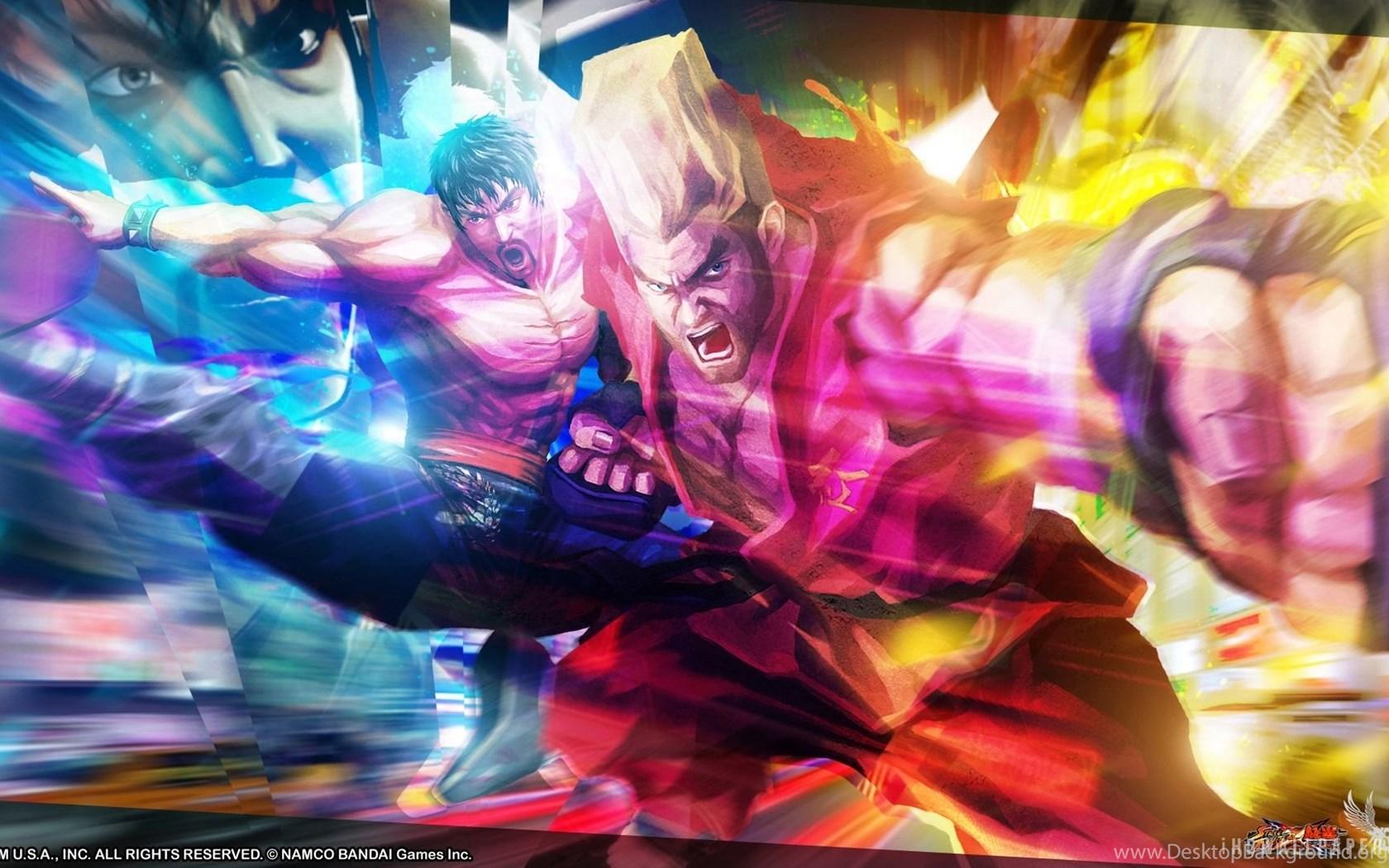Law Paul Street Fighter X Tekken Hd Wallpapers Ihd Wallpapers