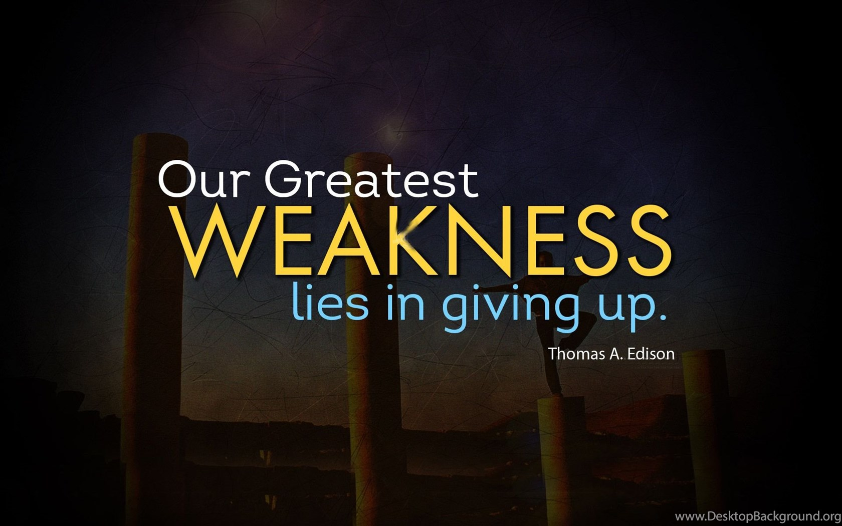 Inspirational Quotes Life Quotes Or Quotes About Life Desktop Background