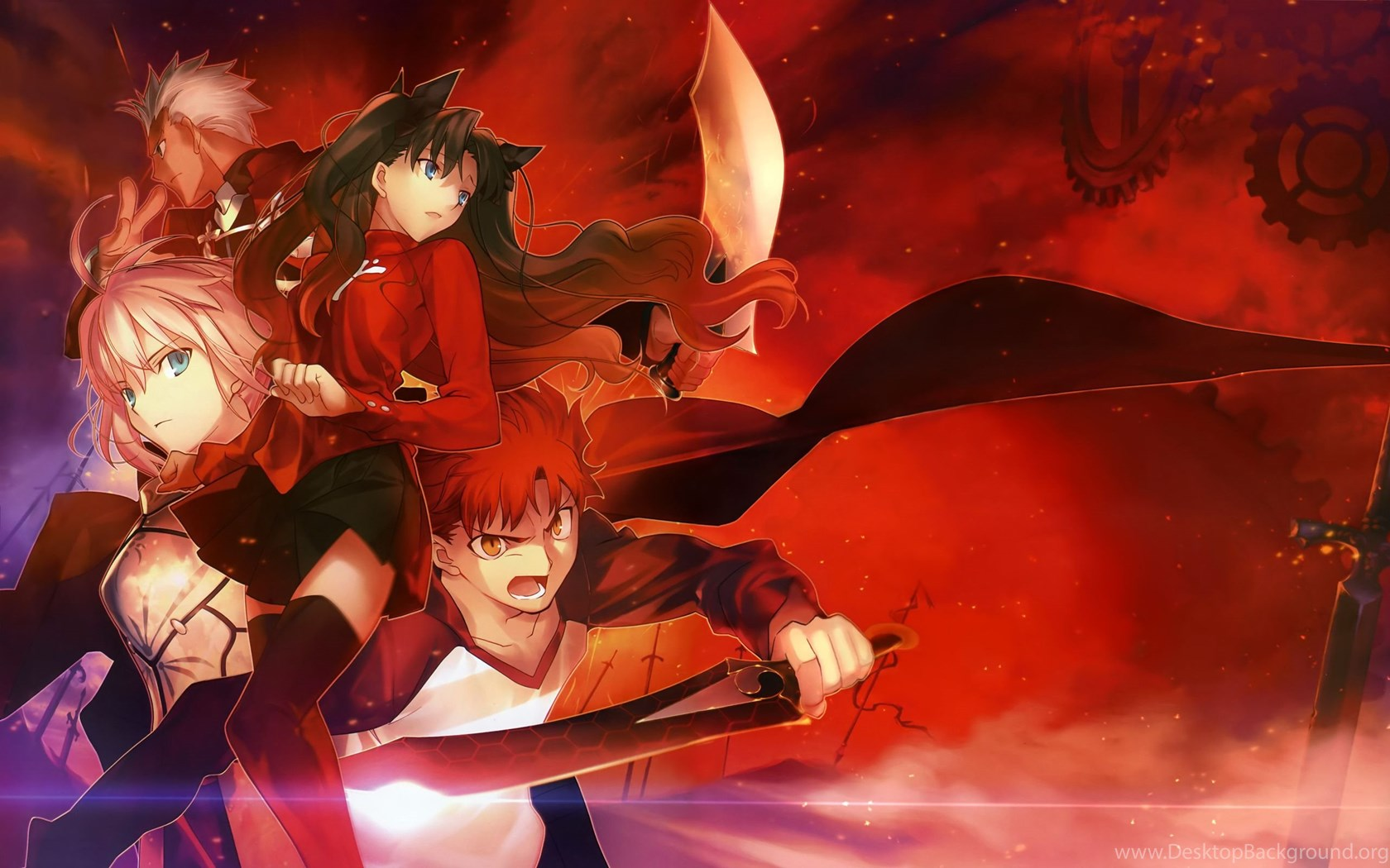 Fate Stay Night Anime Wallpapers 2560x1600 1429590 Desktop Background