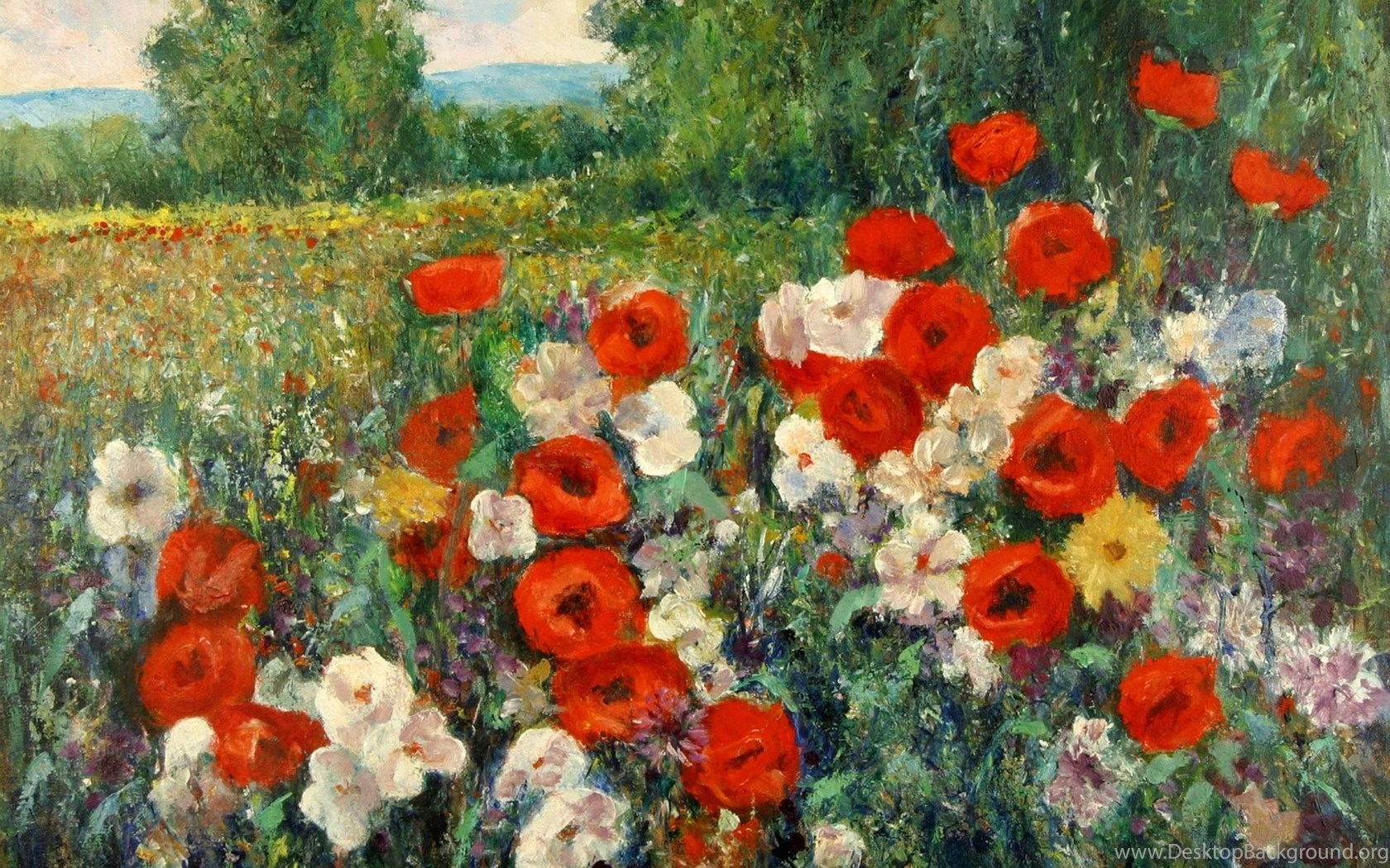 Pic Famous Oil Painting Wallpapers Desktop Background