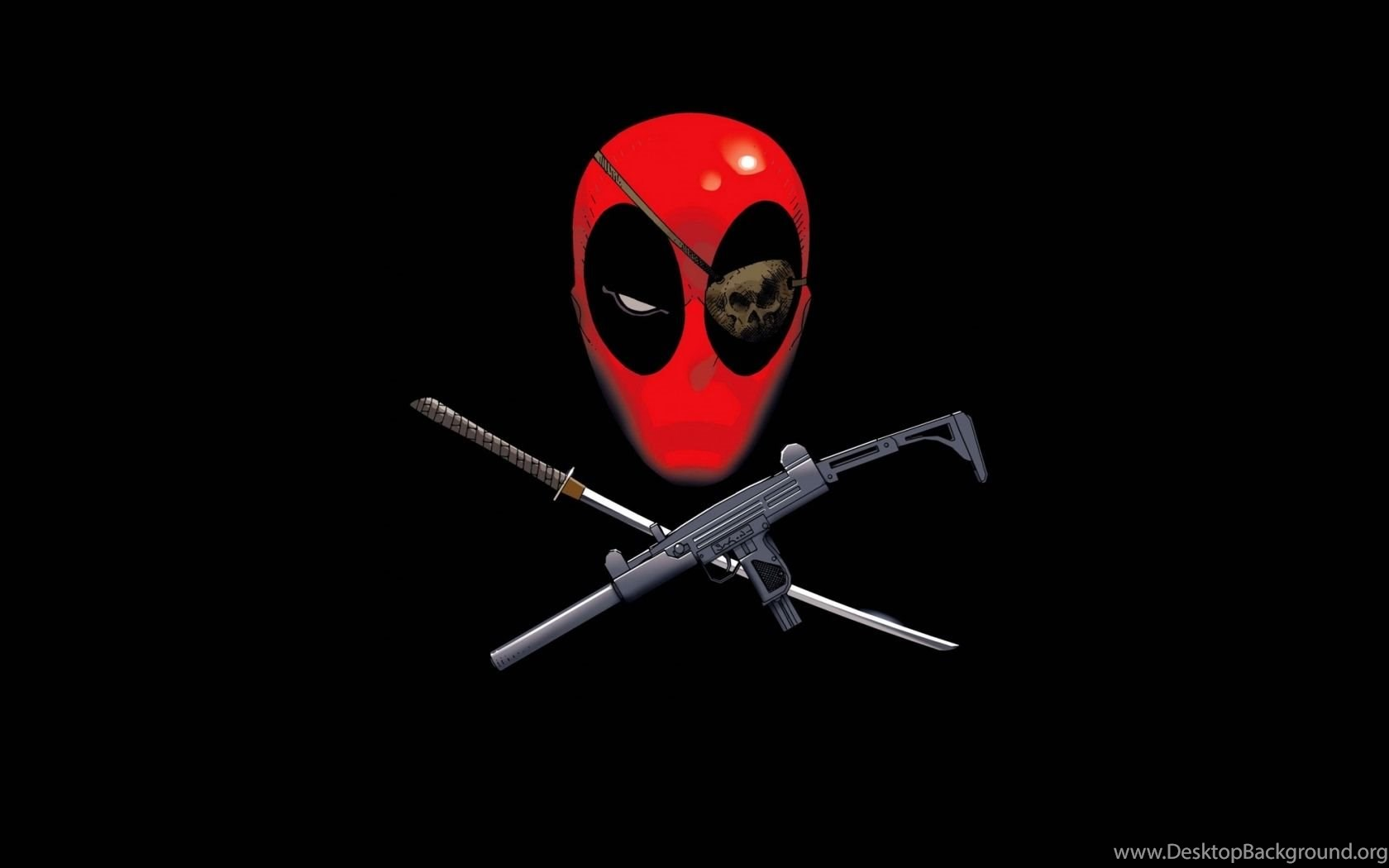 Deadpool Logo Wallpapers For Iphone Desktop Background