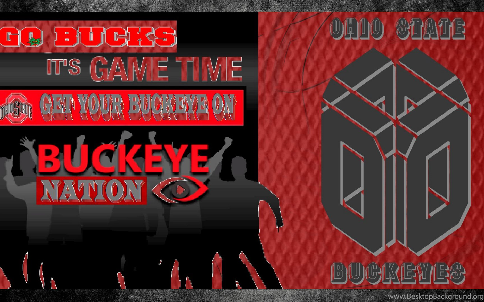 Go Bucks Its Game Time Ohio State Buckeyes Wallpapers 23698989