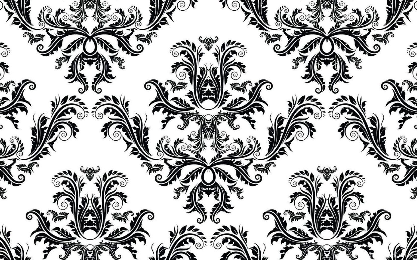 Wallpaper pattern vintage black and white black and white ...