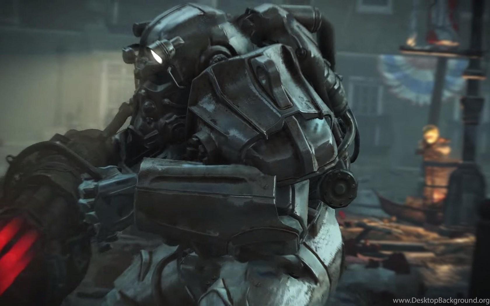 Fallout 4 Brotherhood Of Steel Armor Wallpapers 1920x1080